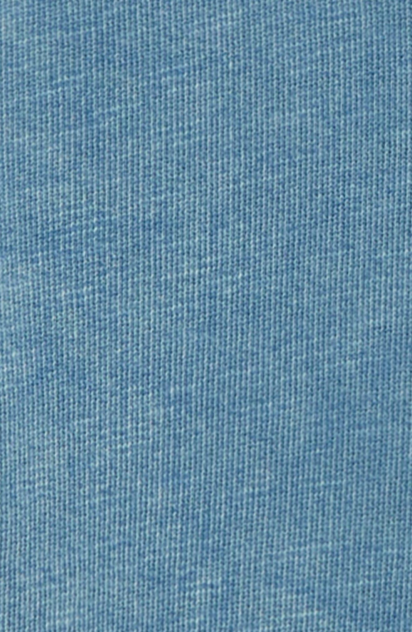 Quarter Zip Hoodie,                             Alternate thumbnail 2, color,                             BLUE BOAT
