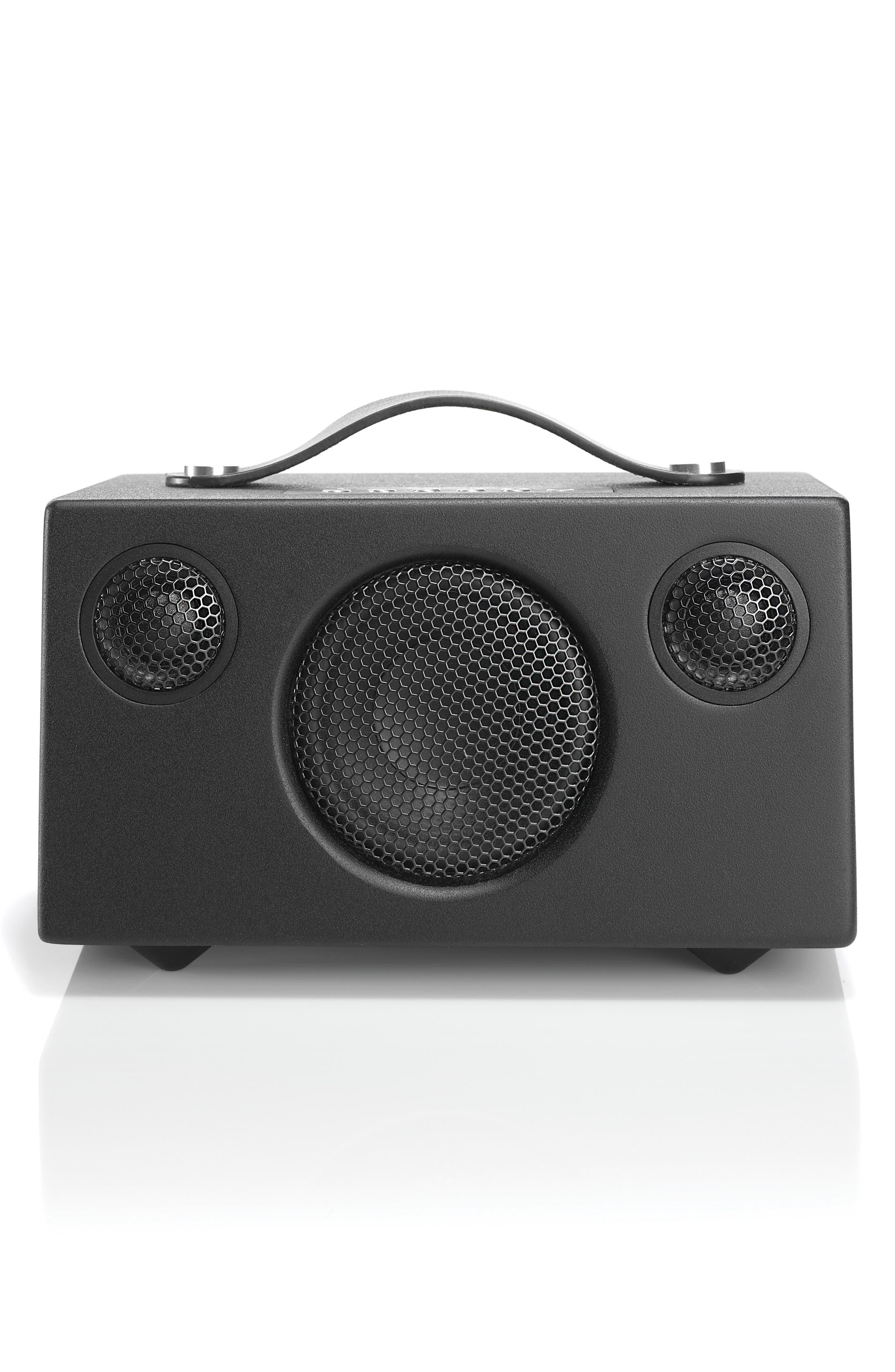 Addon T3 Portable Speaker,                             Main thumbnail 1, color,                             COAL BLACK