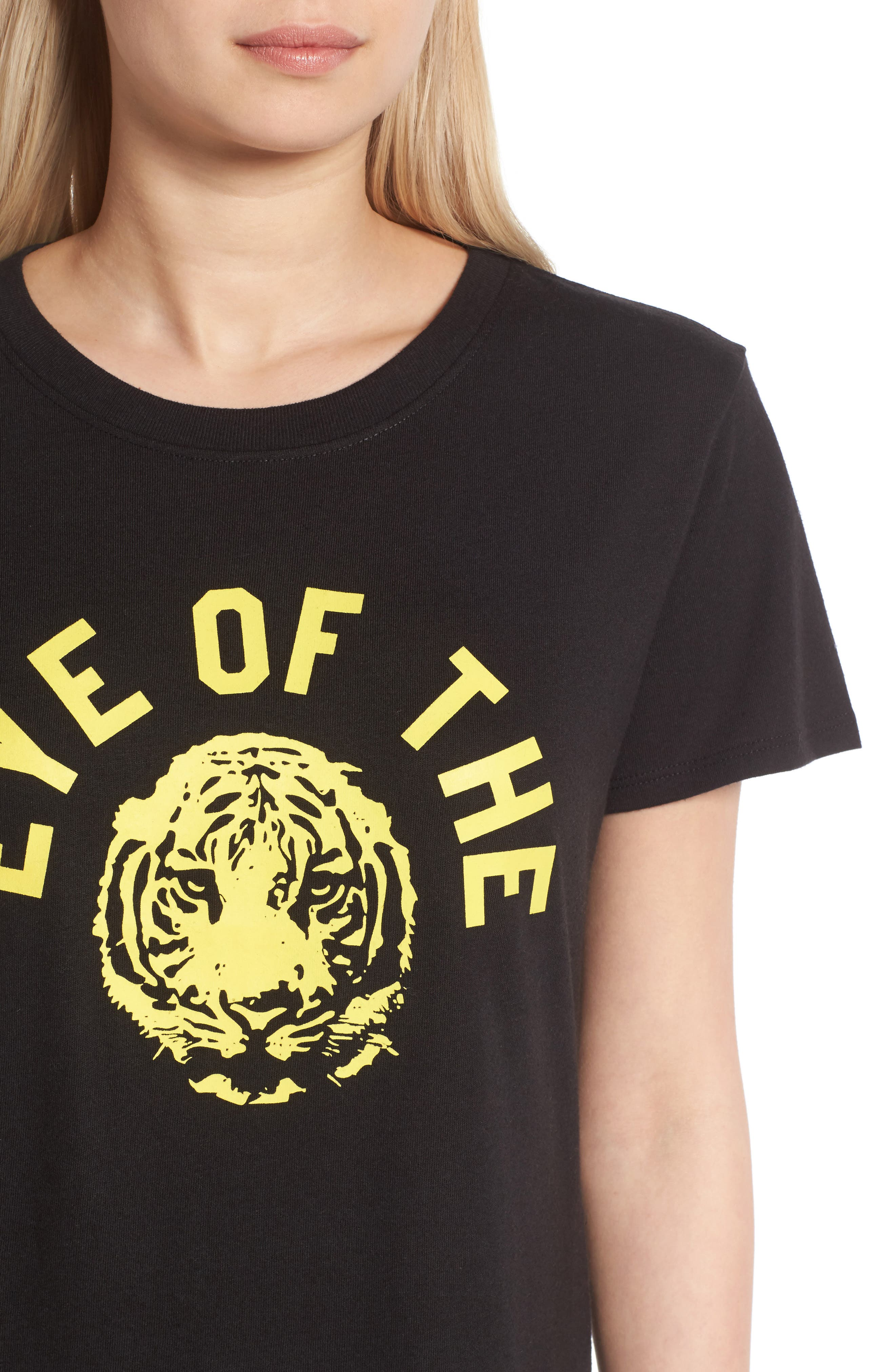 Eye of the Tiger Graphic Tee,                             Alternate thumbnail 4, color,