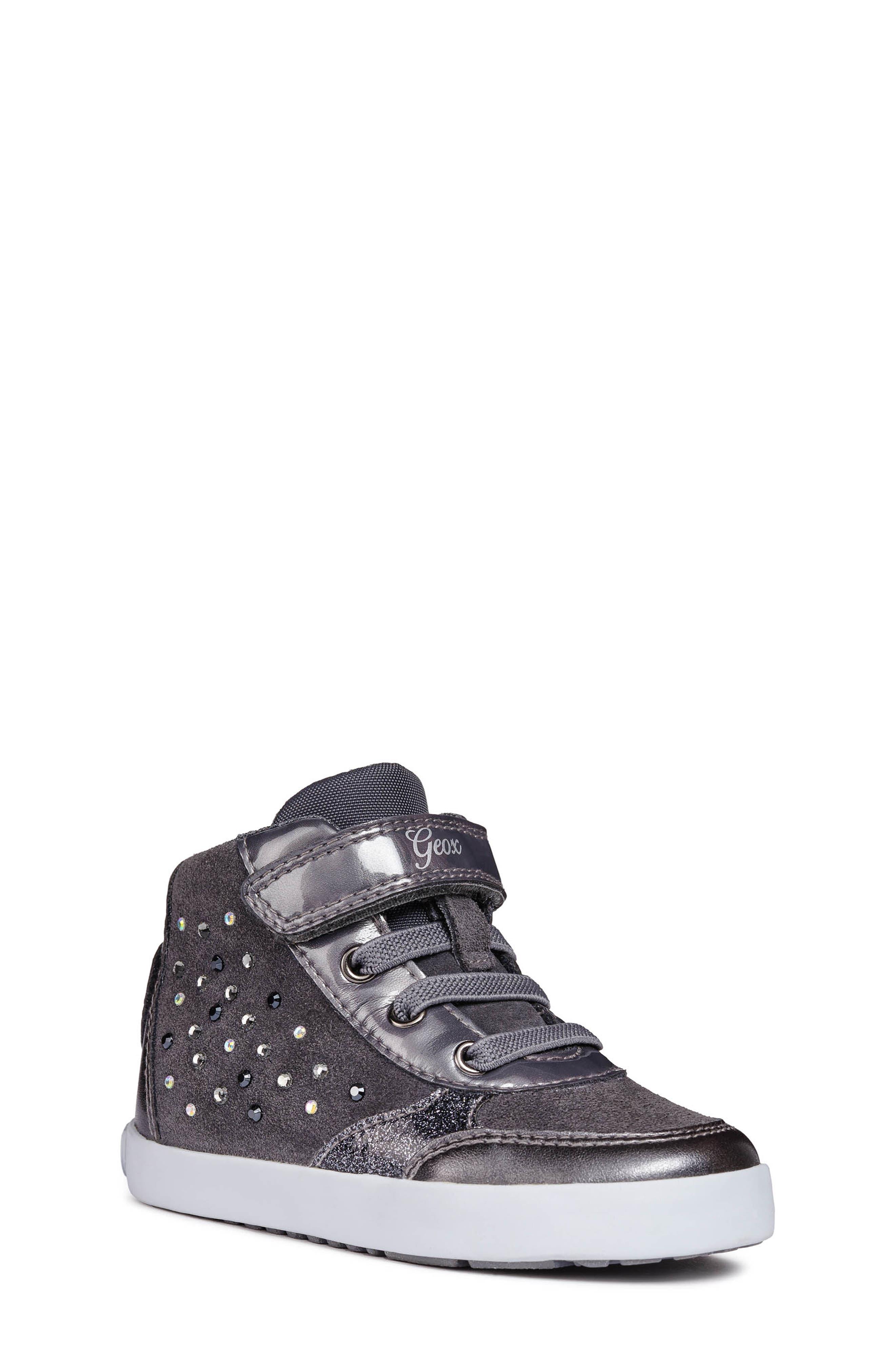 Kilwi High Top Sneaker,                             Main thumbnail 1, color,                             DARK GREY