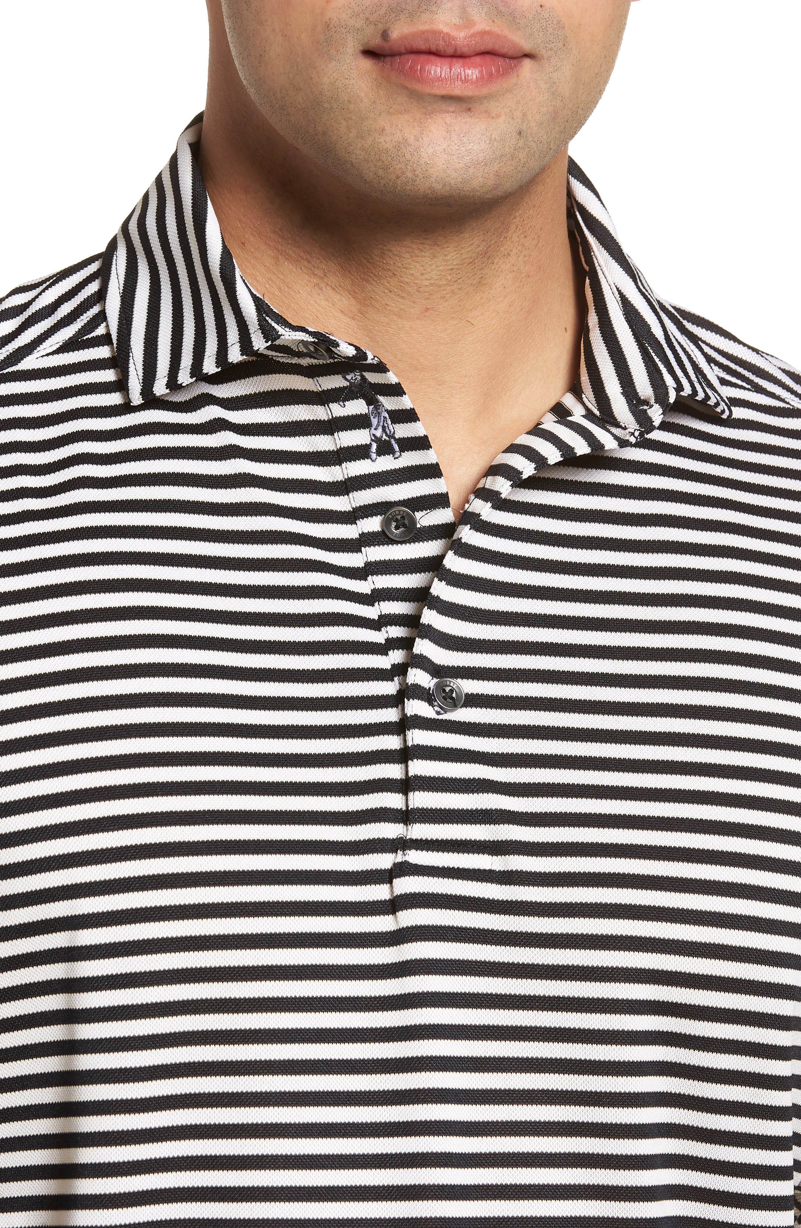 XH2O Feed Stripe Stretch Golf Polo,                             Alternate thumbnail 58, color,