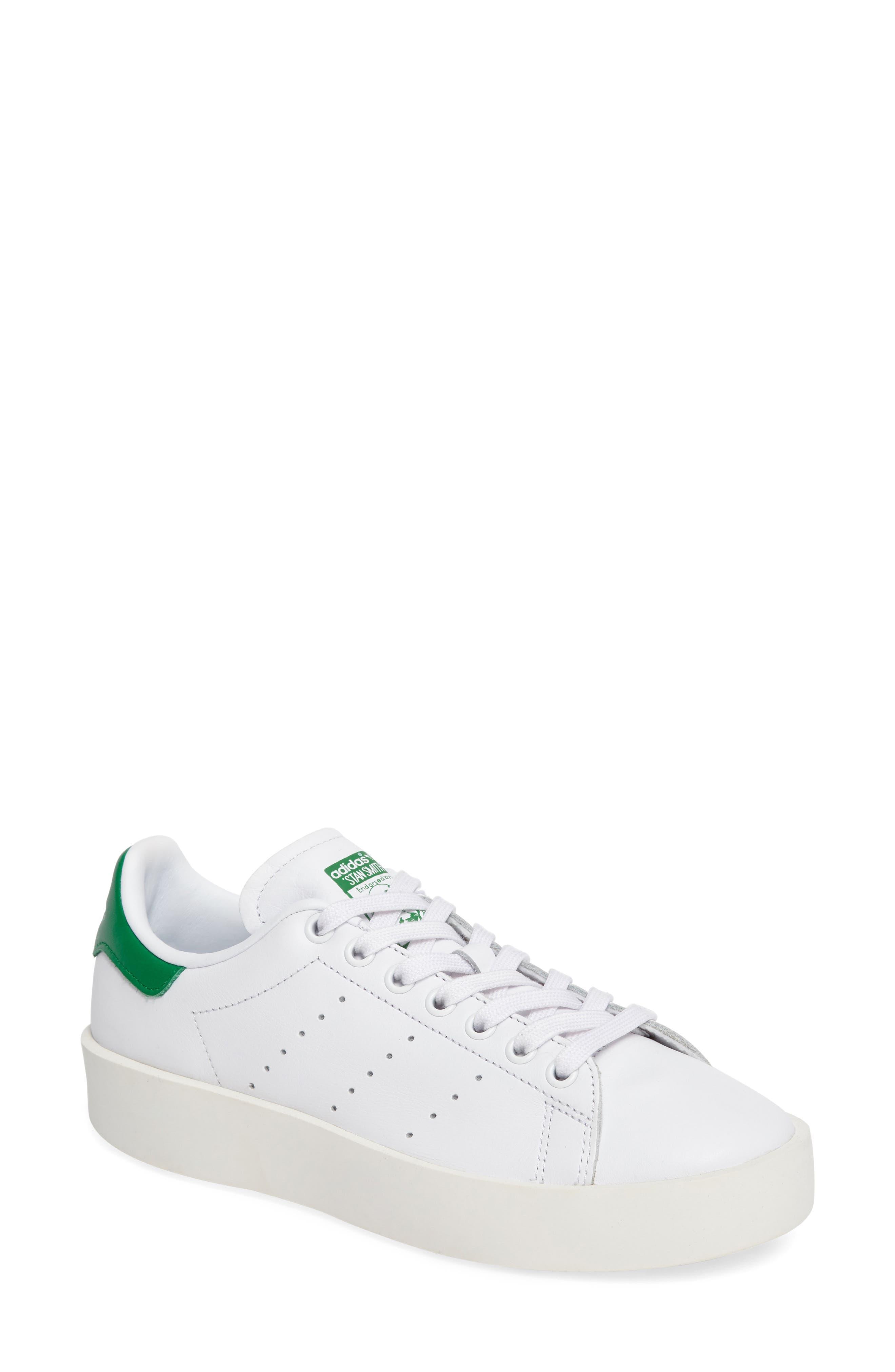 Stan Smith Bold Platform Sneaker,                         Main,                         color, 100