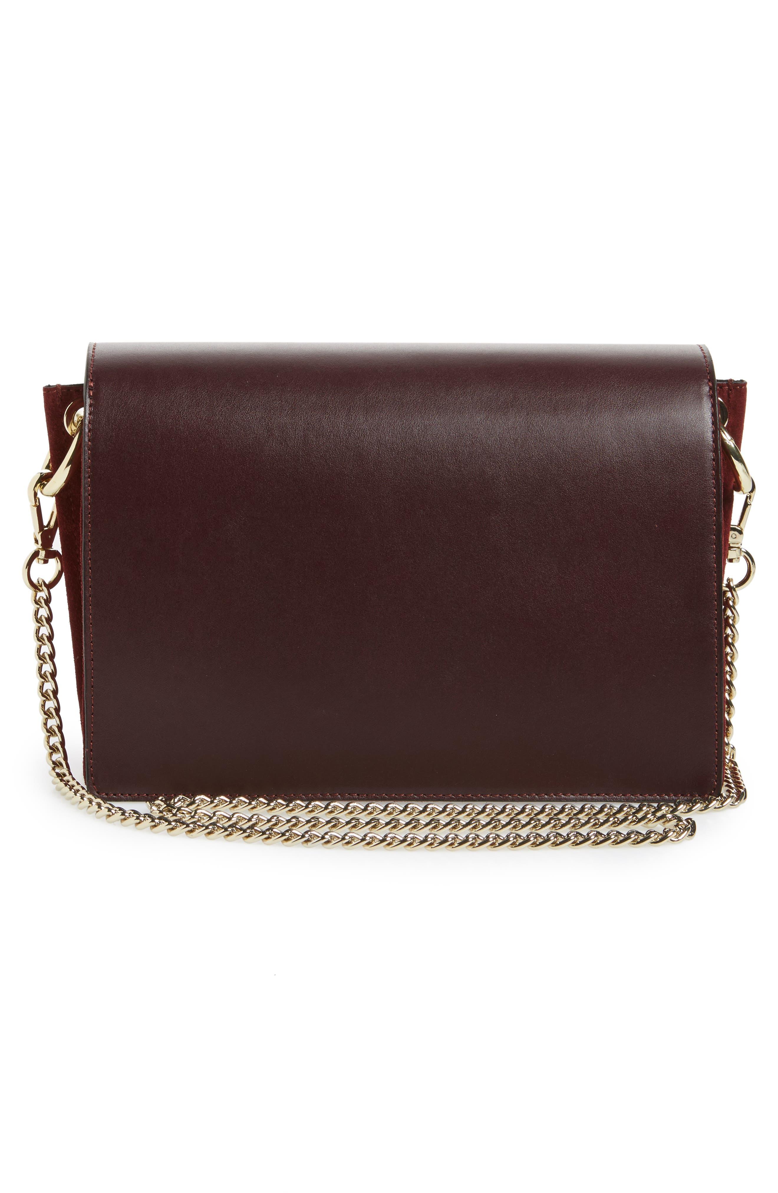 Premium Leather & Suede Soko Shoulder Bag,                             Alternate thumbnail 3, color,                             930