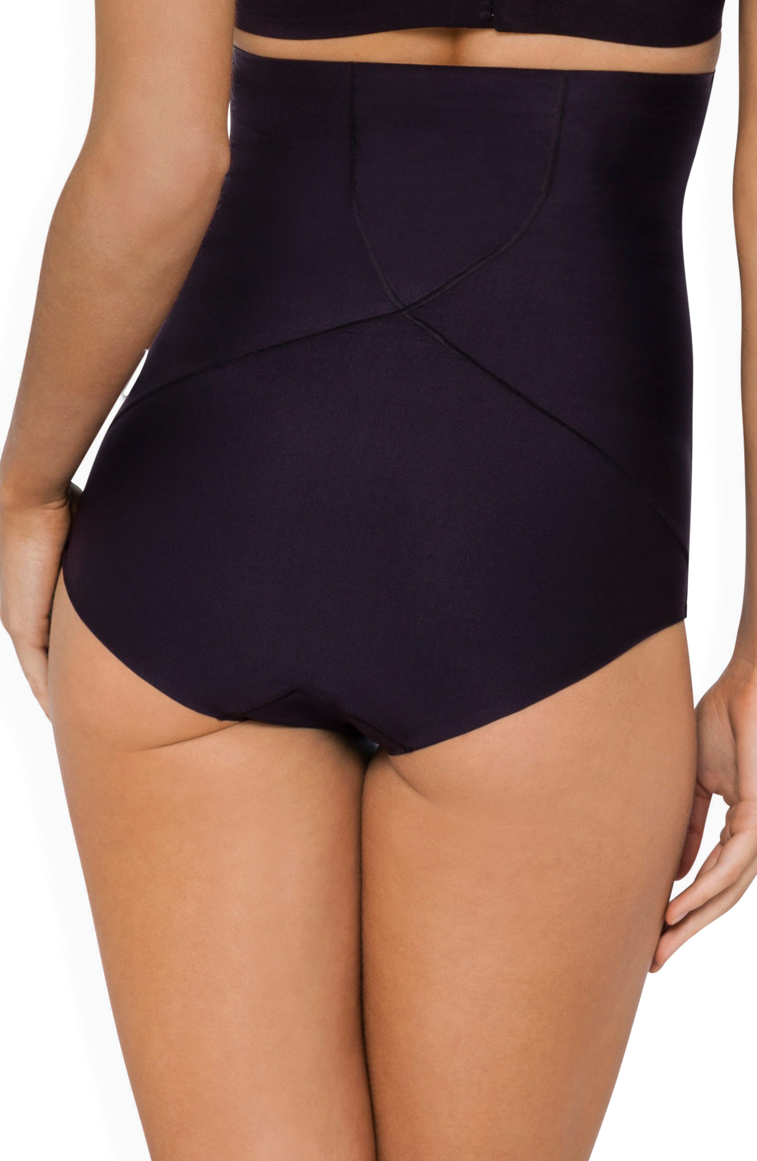 Body Architect High Waist Shaper Briefs,                             Alternate thumbnail 2, color,                             BLACK