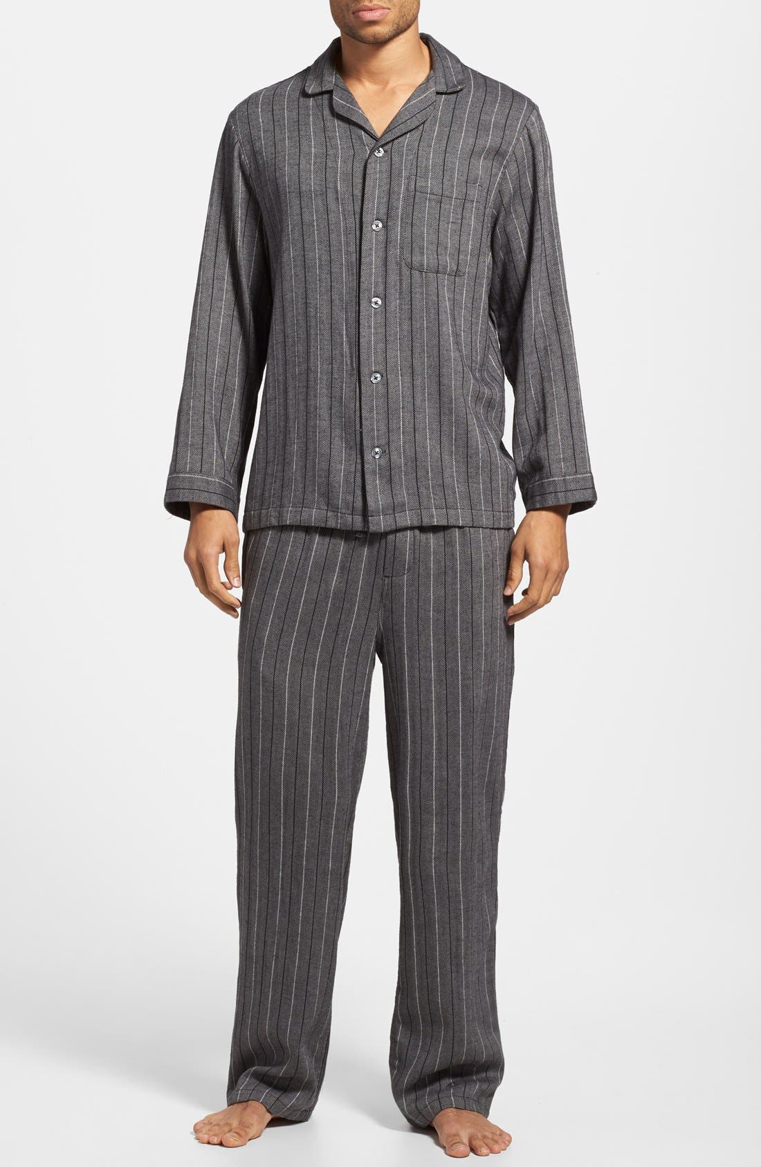 '824' Flannel Pajama Set,                             Main thumbnail 23, color,