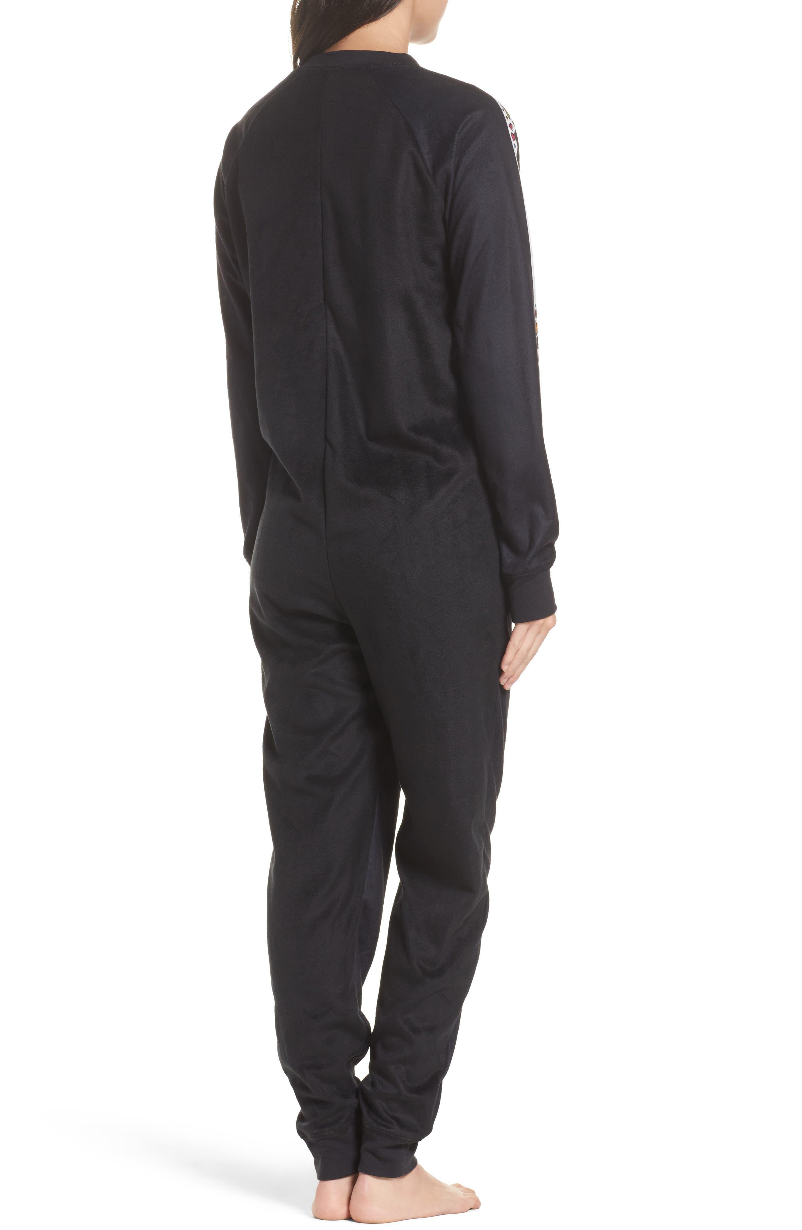 Pajama Jumpsuit,                             Alternate thumbnail 2, color,                             001