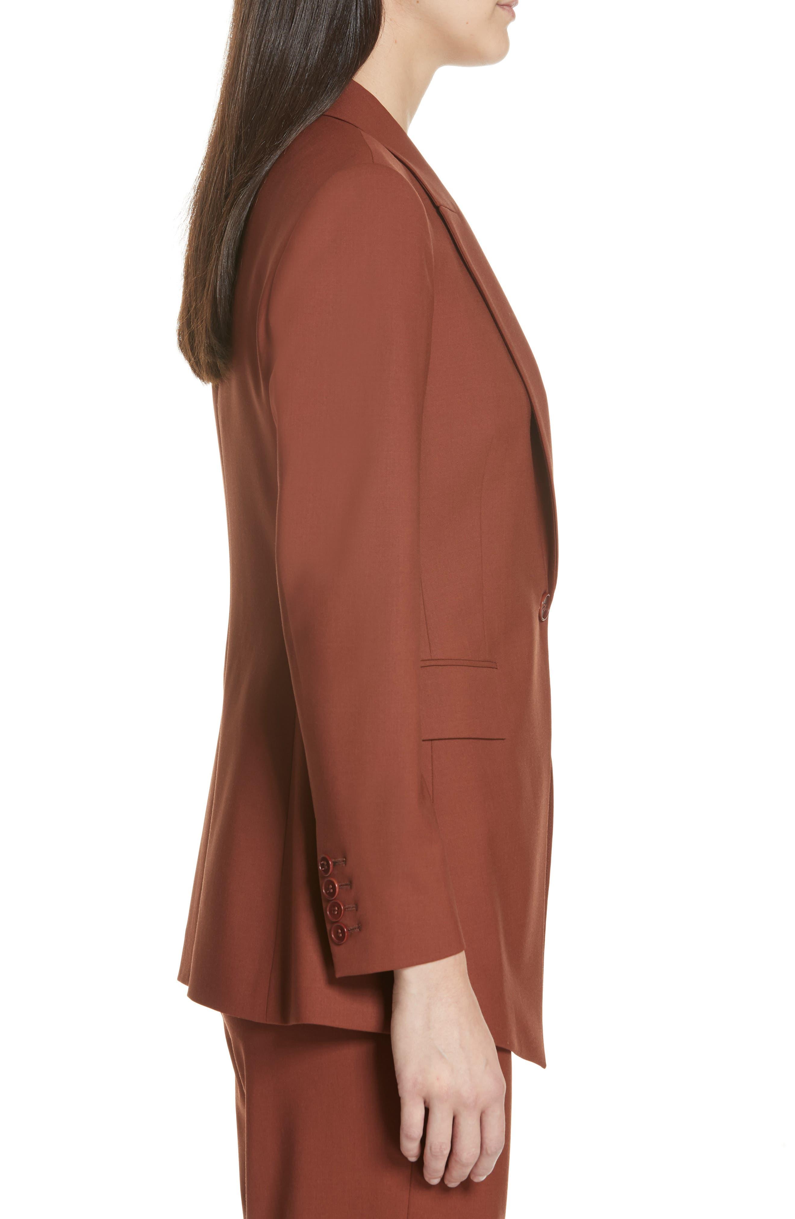 Etienette B Good Wool Suit Jacket,                             Alternate thumbnail 23, color,