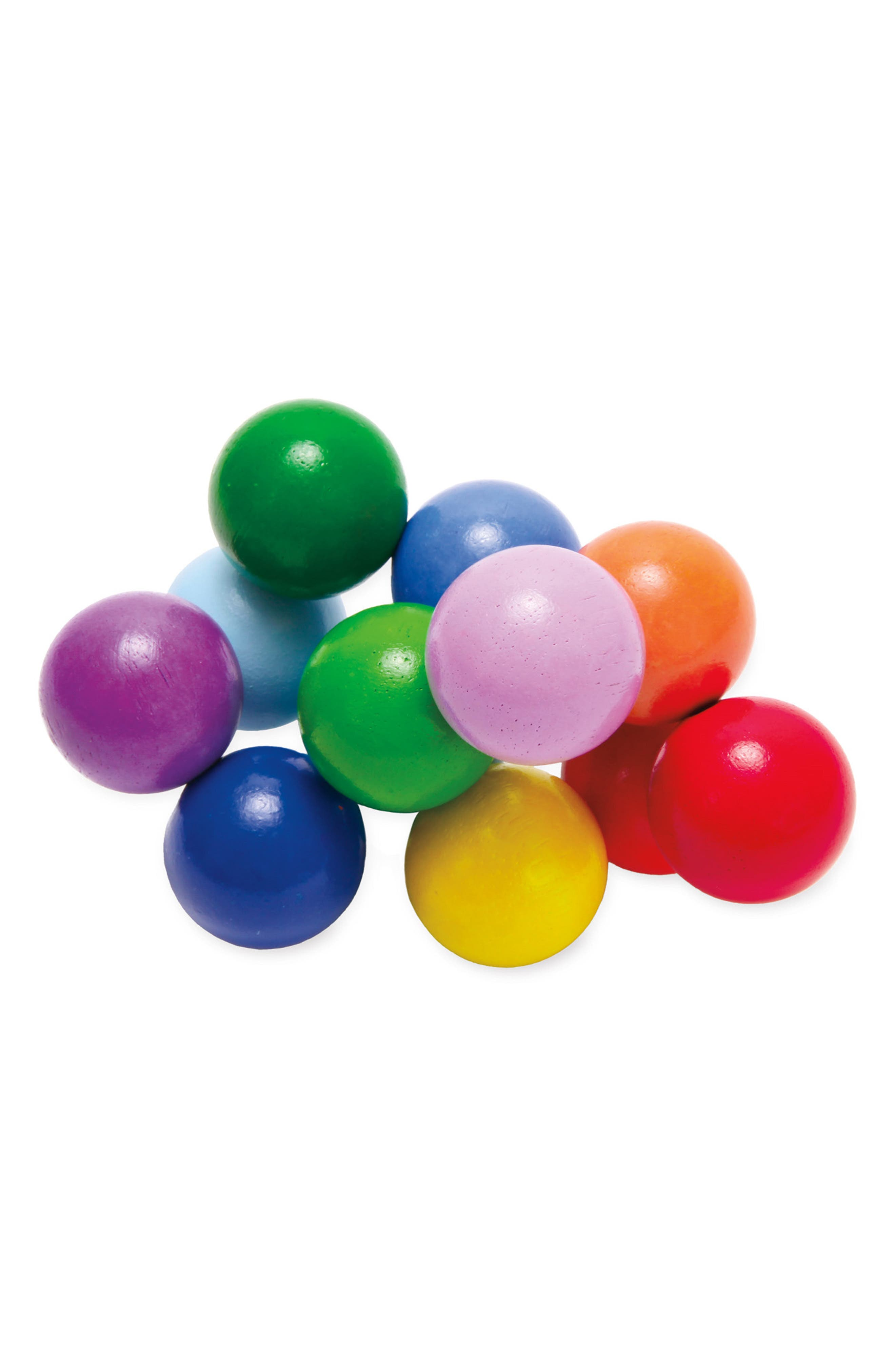 Classic Wooden Bead Cluster Toy,                             Main thumbnail 1, color,                             000