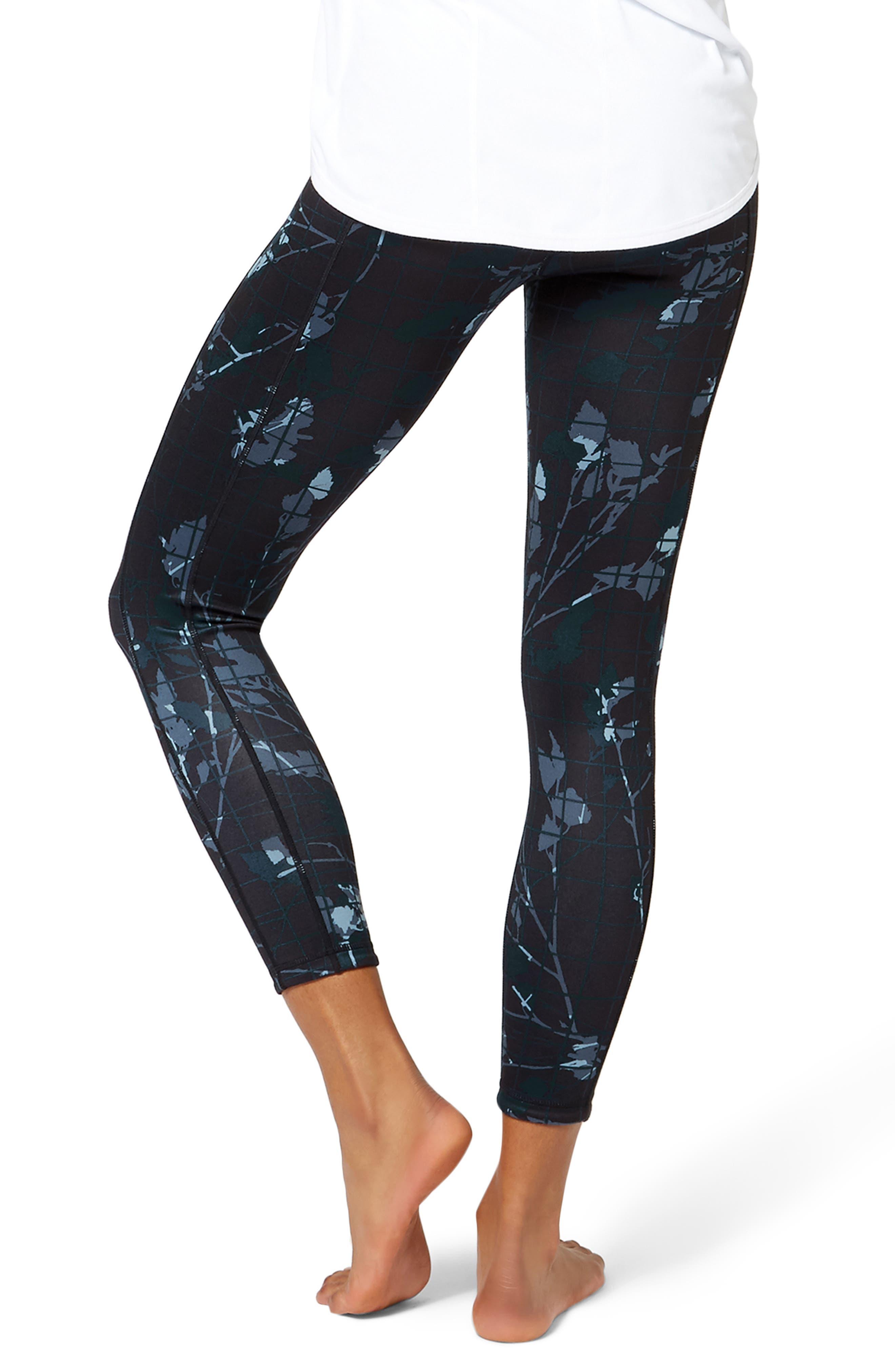 Double Duty Reversible Yoga Leggings,                             Alternate thumbnail 2, color,                             400