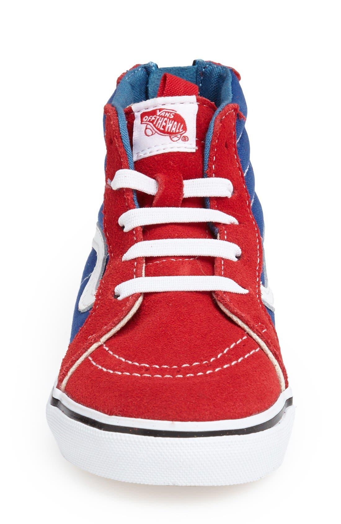 'Sk8-Hi' Zip Sneaker,                             Alternate thumbnail 22, color,