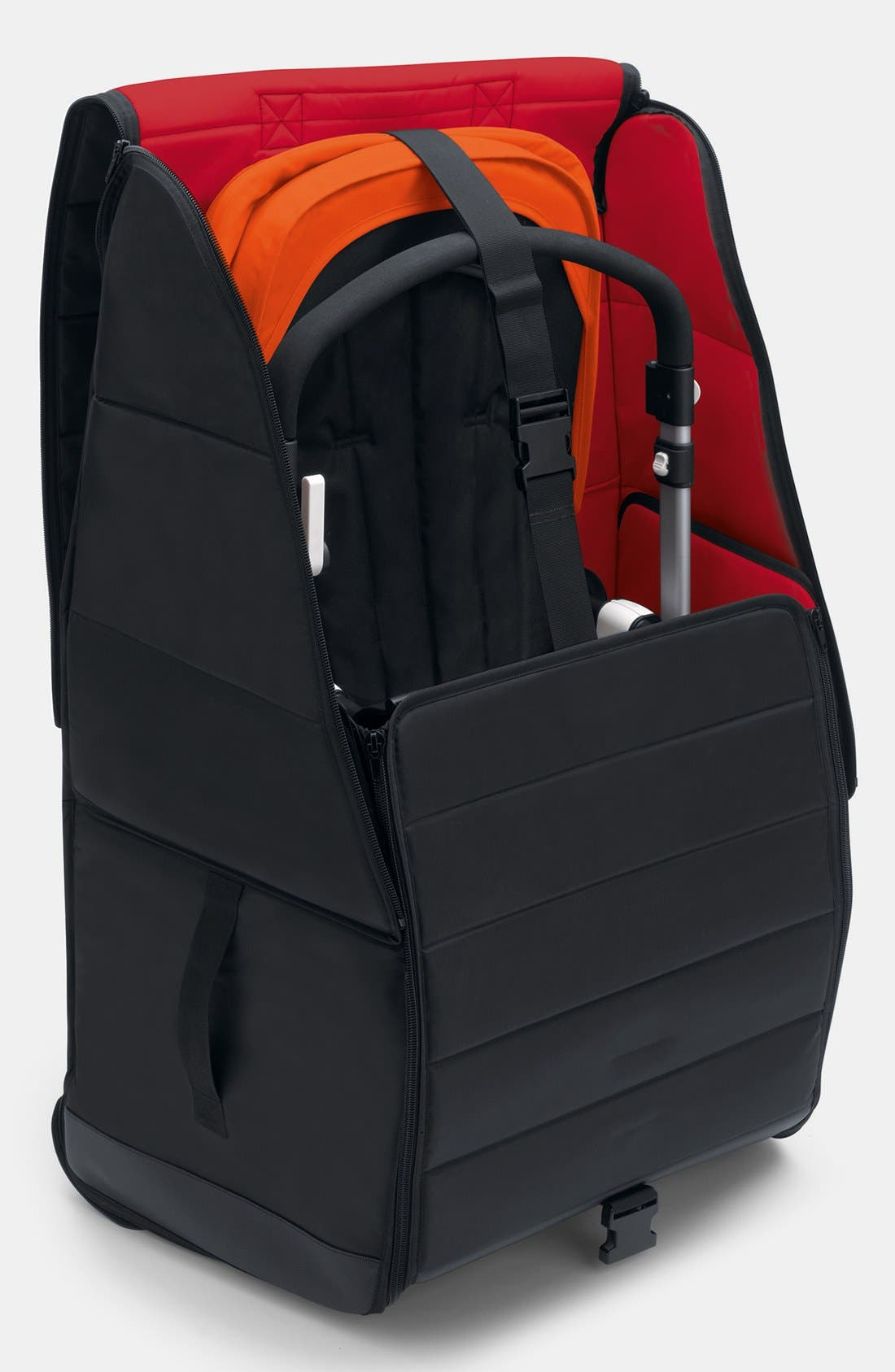 Comfort Stroller Transport Bag,                             Alternate thumbnail 5, color,                             BLACK