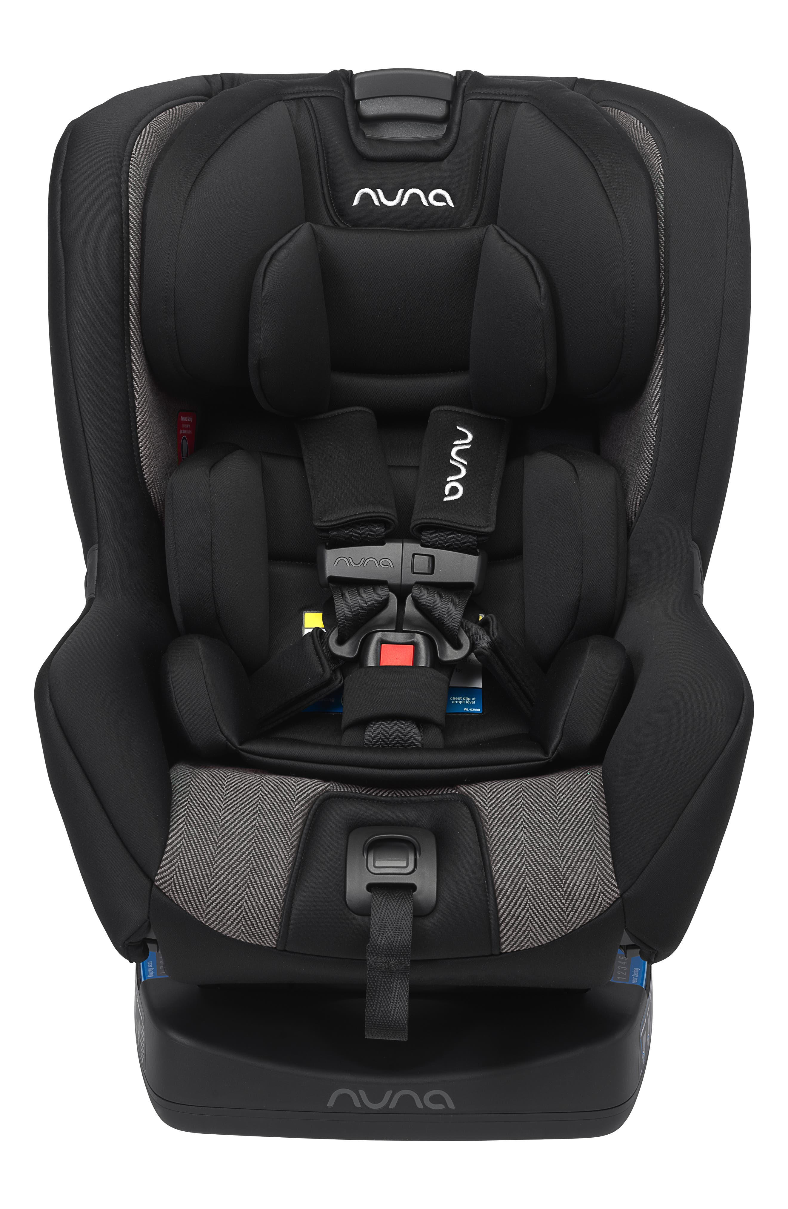NUNA RAVA<sup>™</sup> Convertible Car Seat, Main, color, VERONA CAVIAR