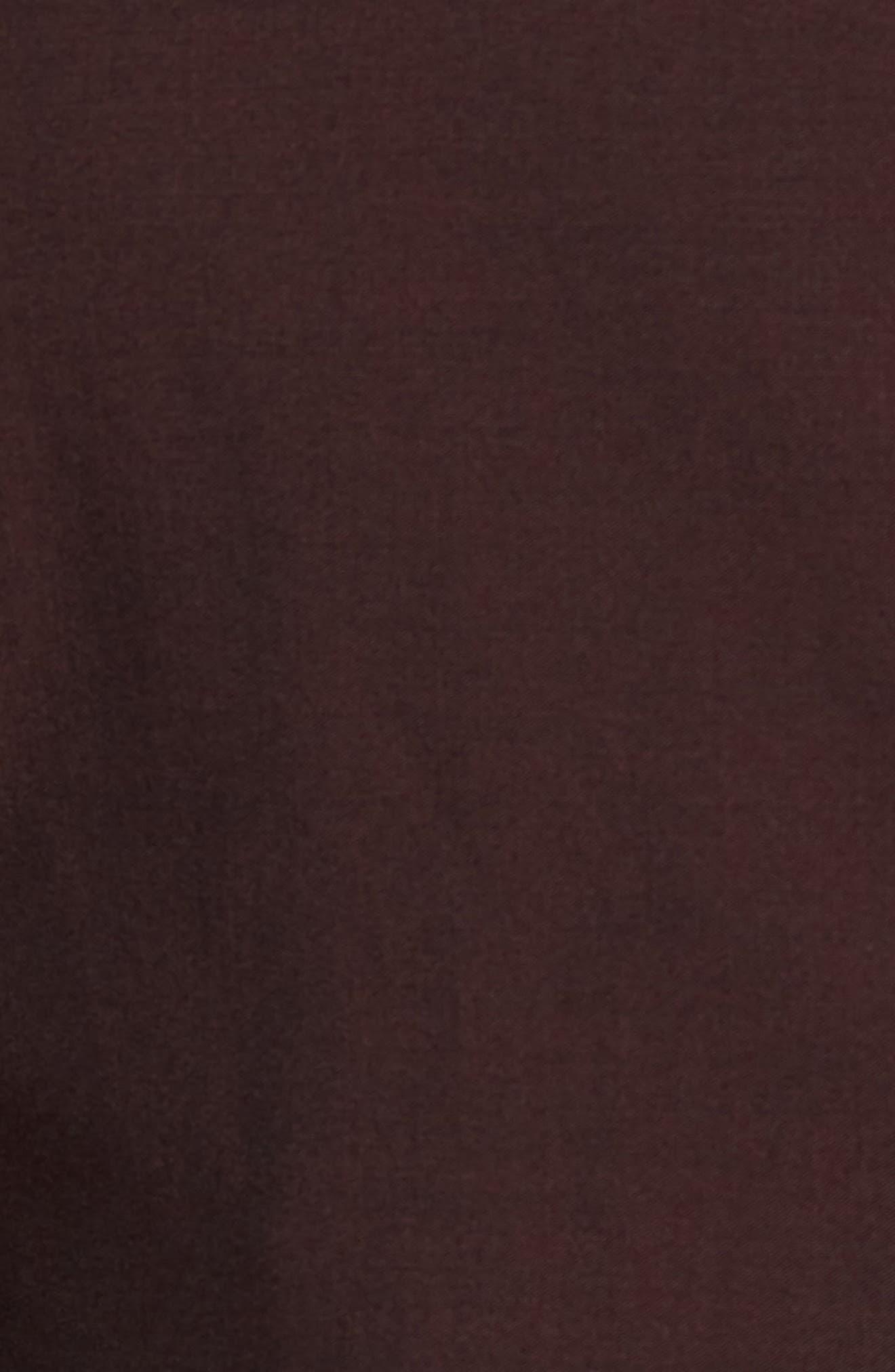 Capstone Slim Fit Italian Wool Dinner Jacket,                             Alternate thumbnail 6, color,                             MAROON