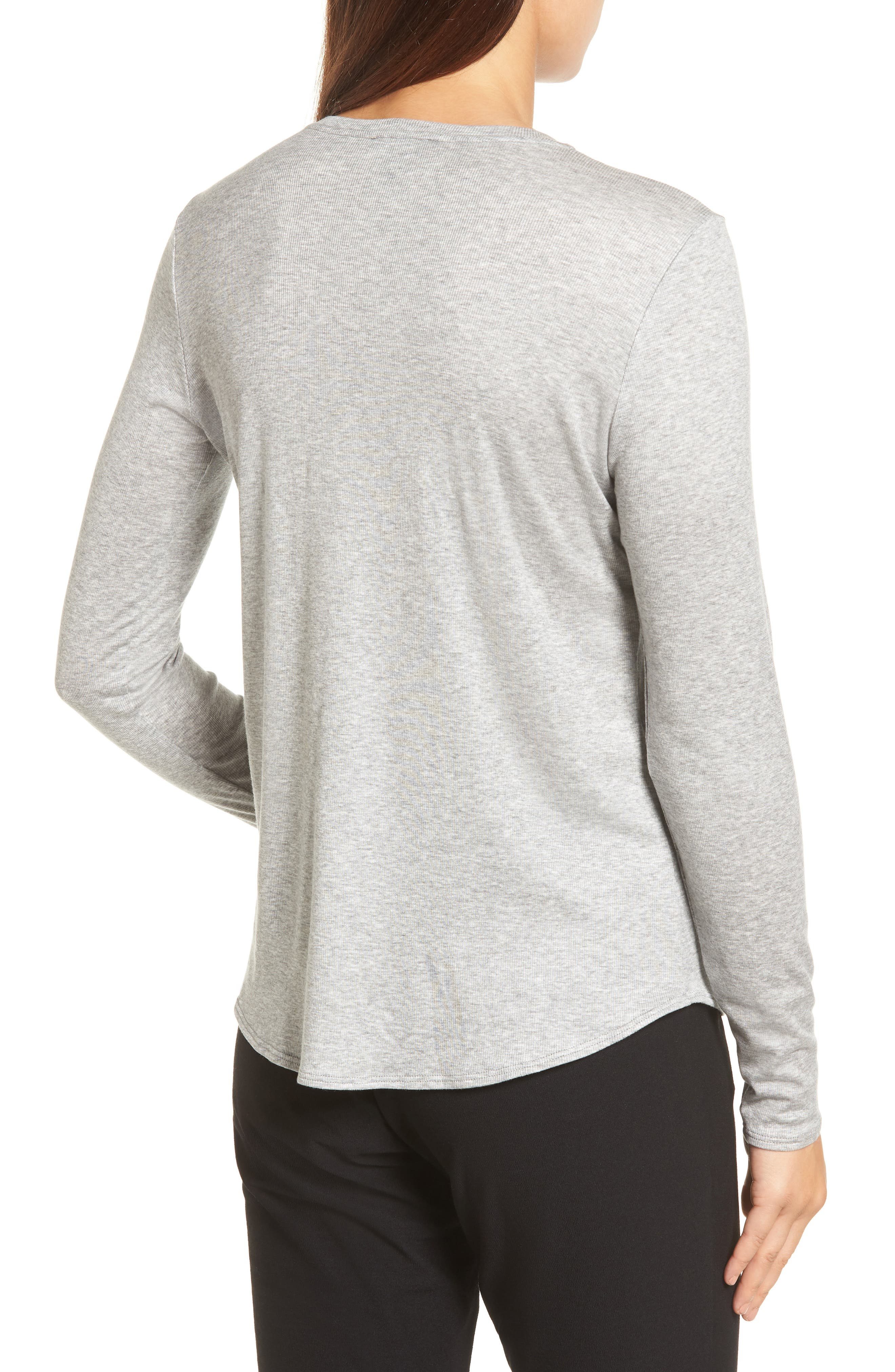 Stretch Tencel<sup>®</sup> Top,                             Alternate thumbnail 2, color,                             052