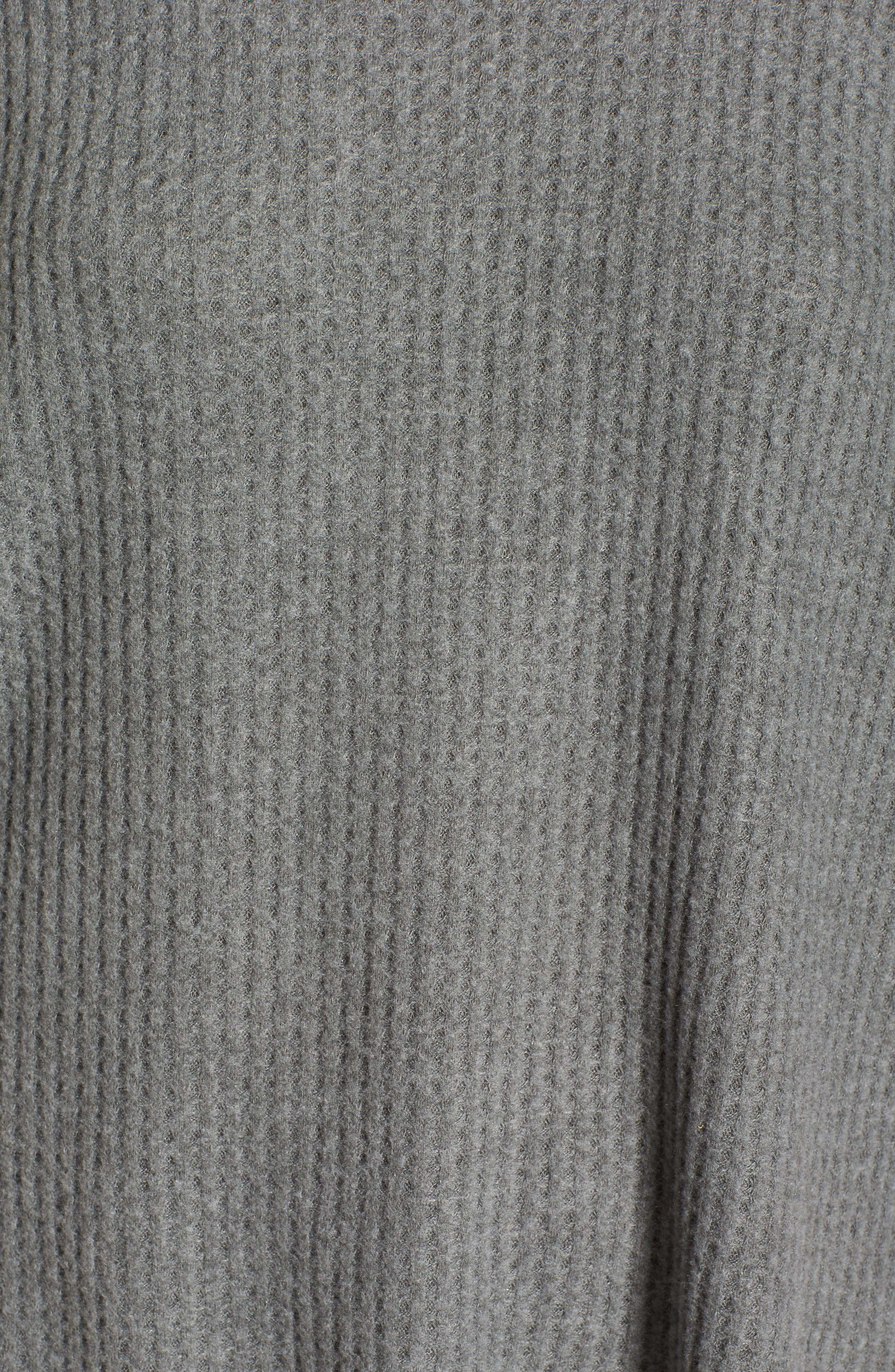Cozy Thermal Tee,                             Alternate thumbnail 5, color,                             030