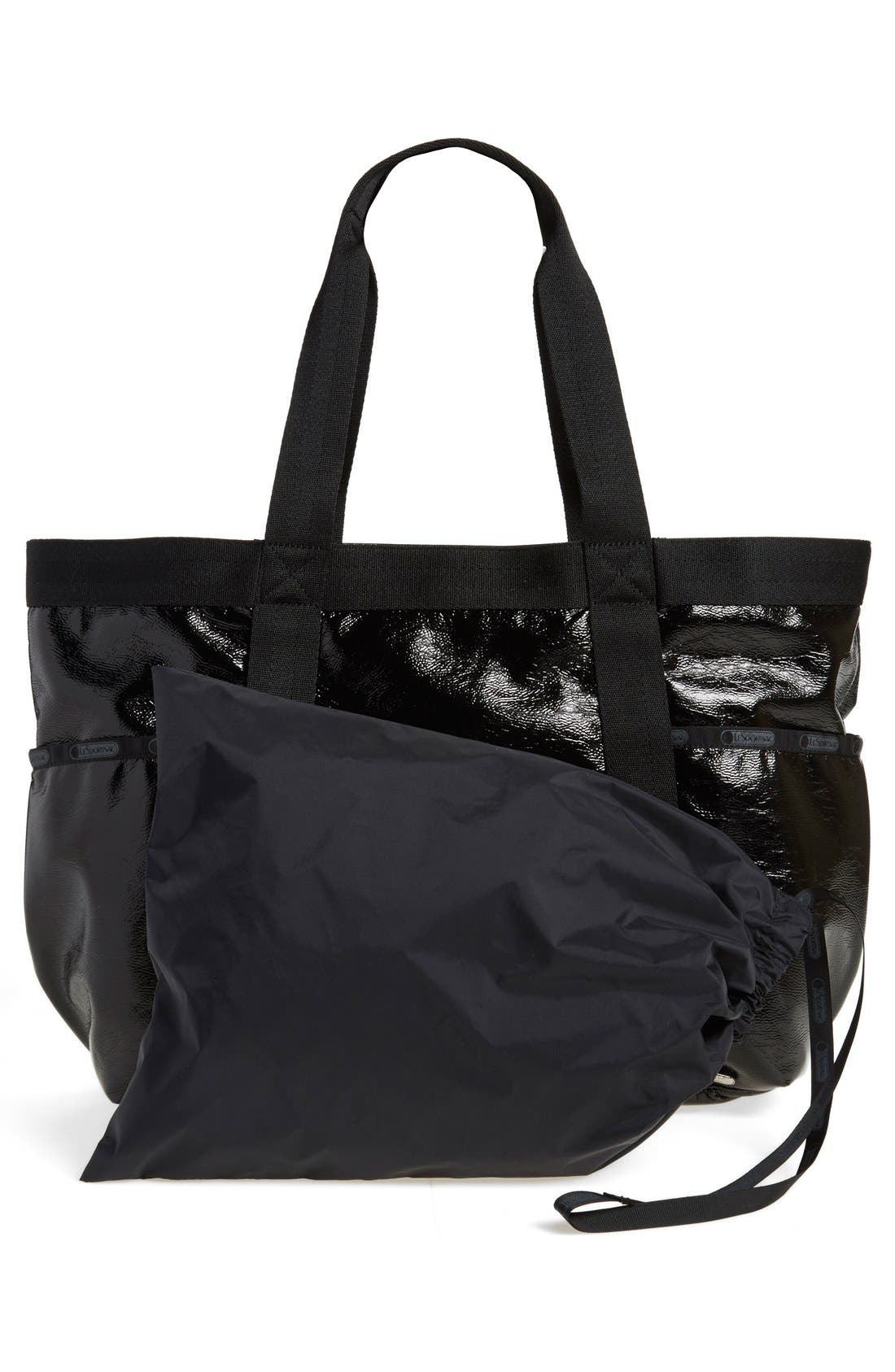 Gym Tote,                             Alternate thumbnail 4, color,                             001
