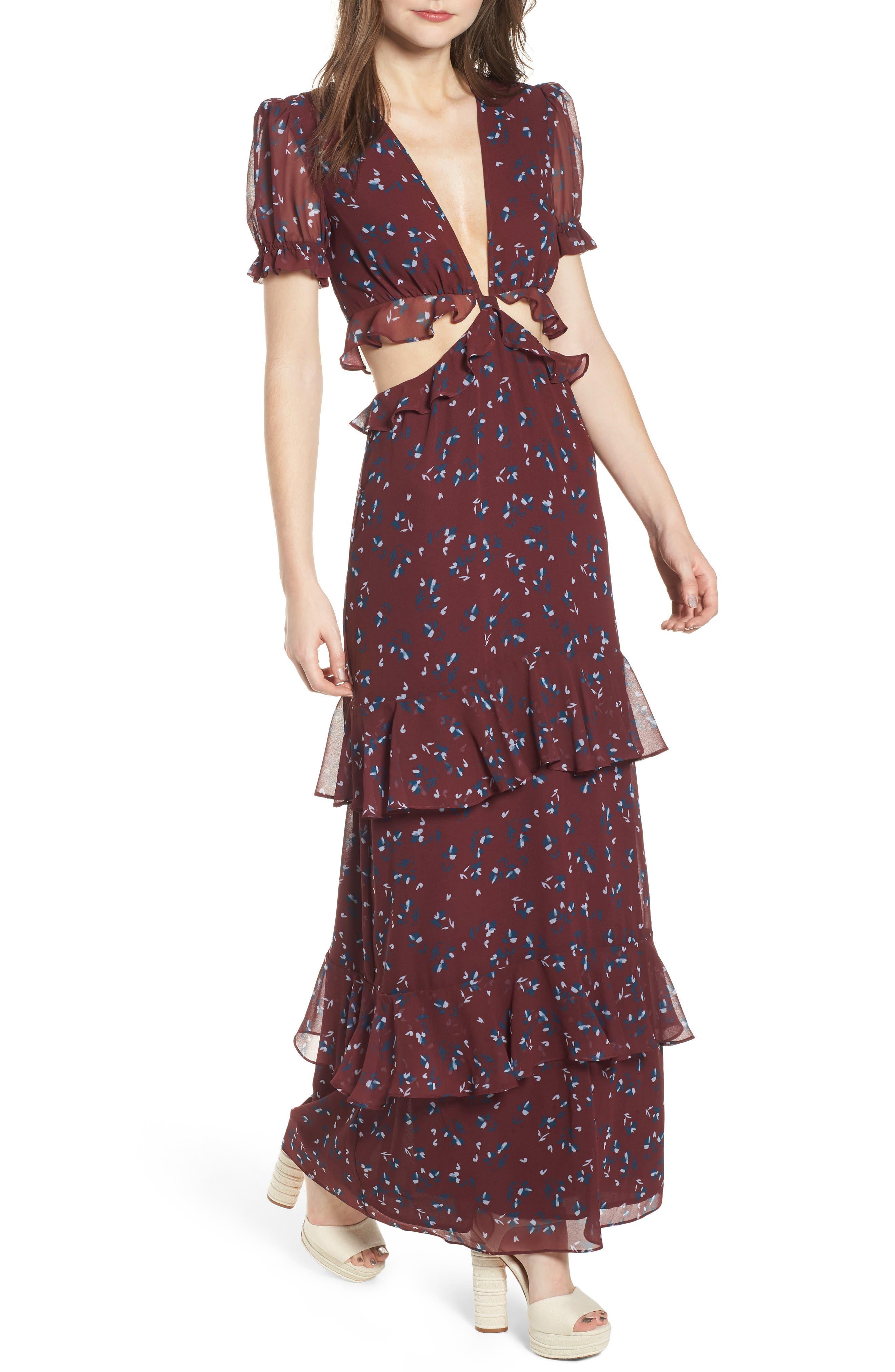 Laviana Maxi Dress,                         Main,                         color, 930