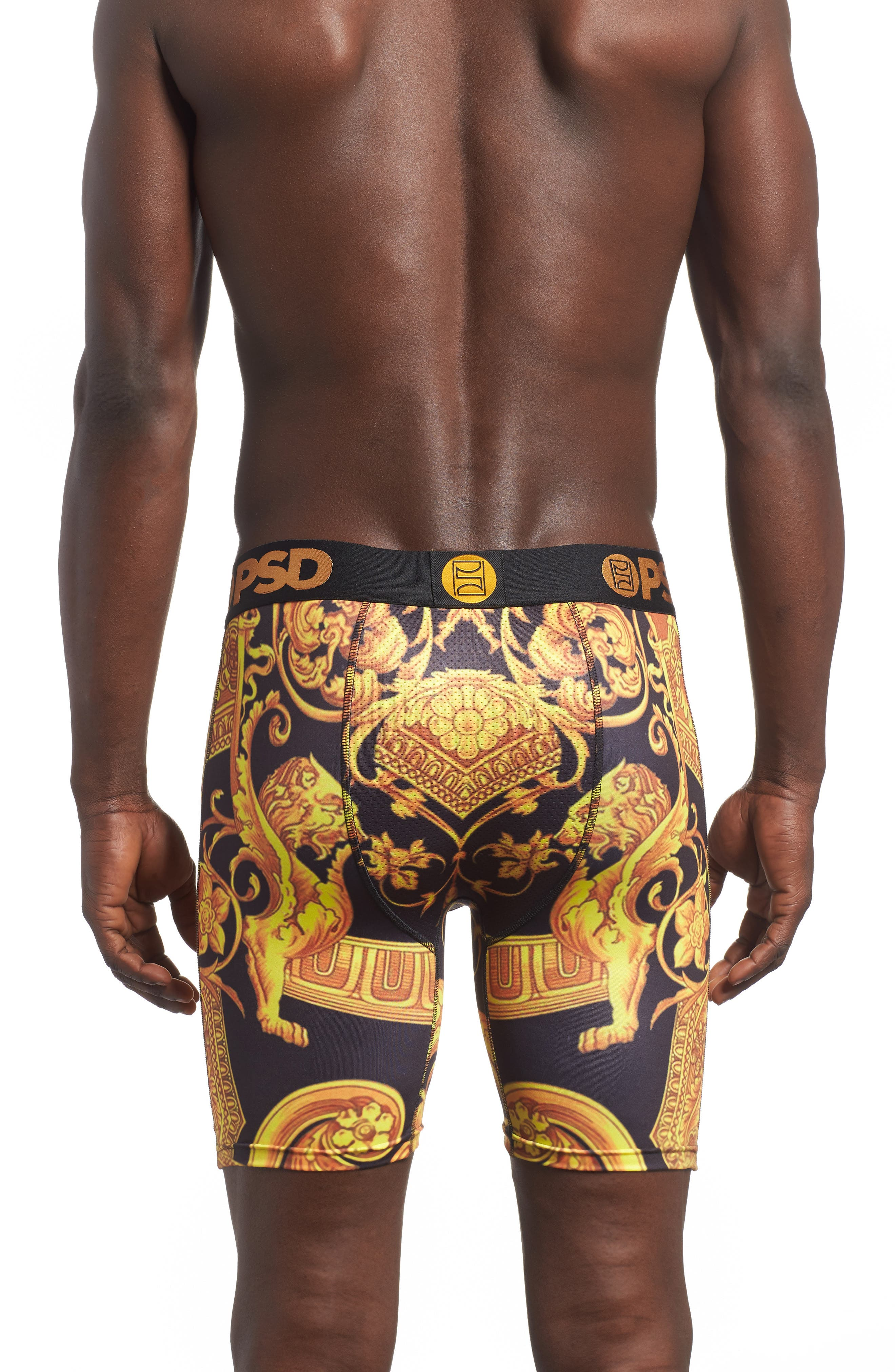 Gold Sace Boxer Briefs,                             Alternate thumbnail 2, color,                             710