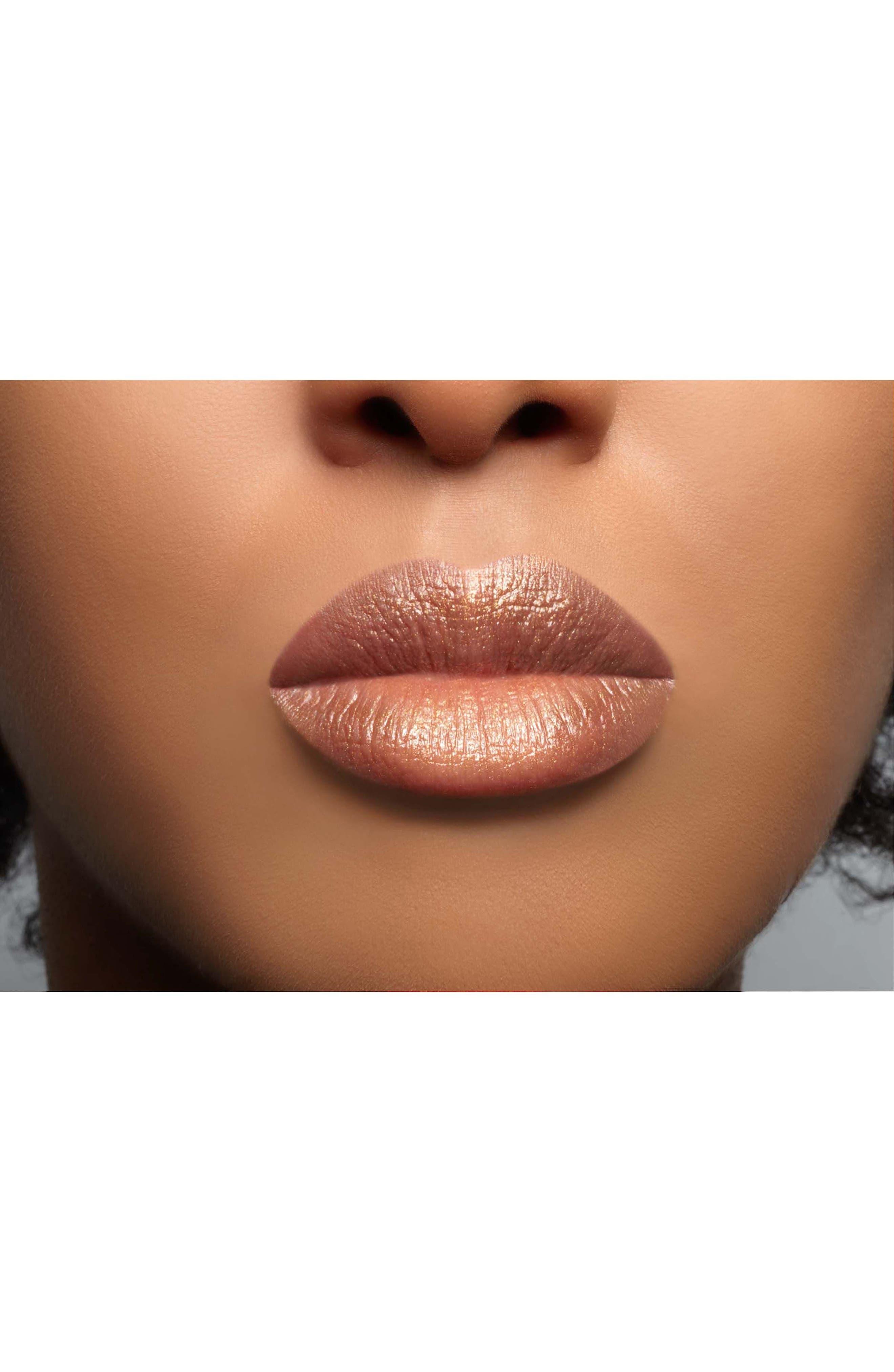 SPACE.NK.apothecary Lipstick Queen Queen Bee Lipstick,                             Alternate thumbnail 3, color,                             000
