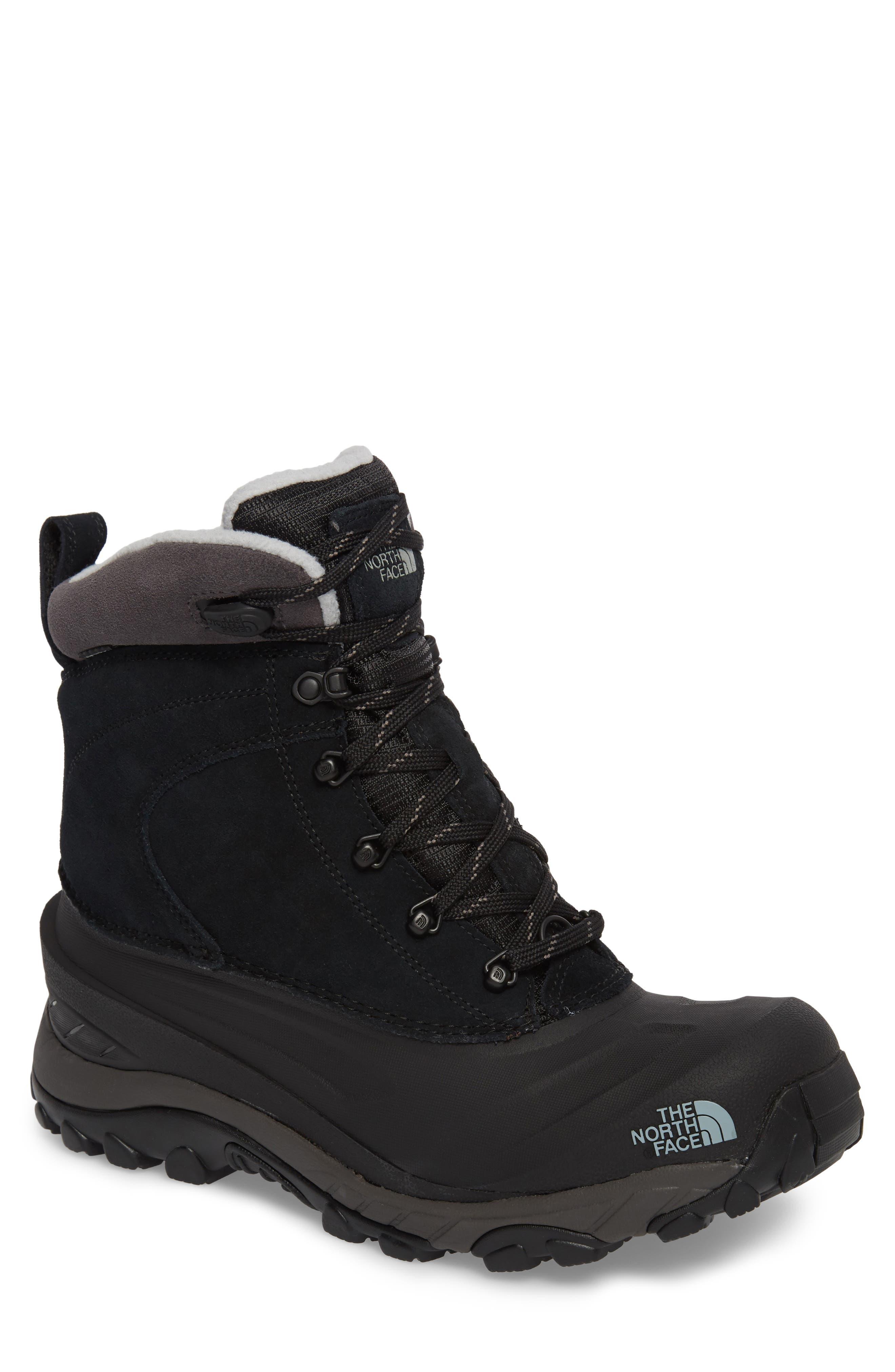 Chilkat III Waterproof Insulated Boot,                         Main,                         color, TNF BLACK