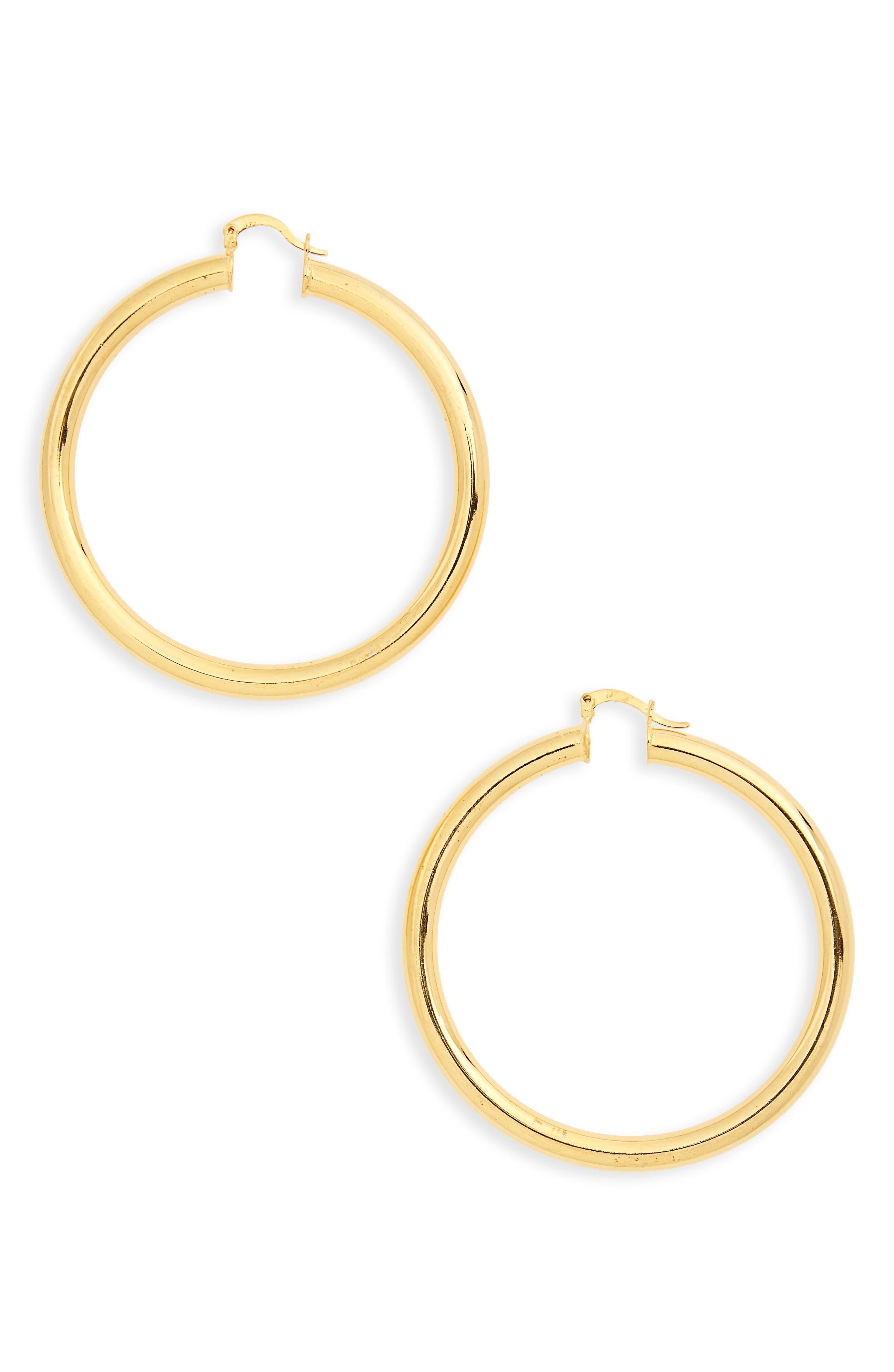 Sade Large Hoop Earrings,                         Main,                         color,