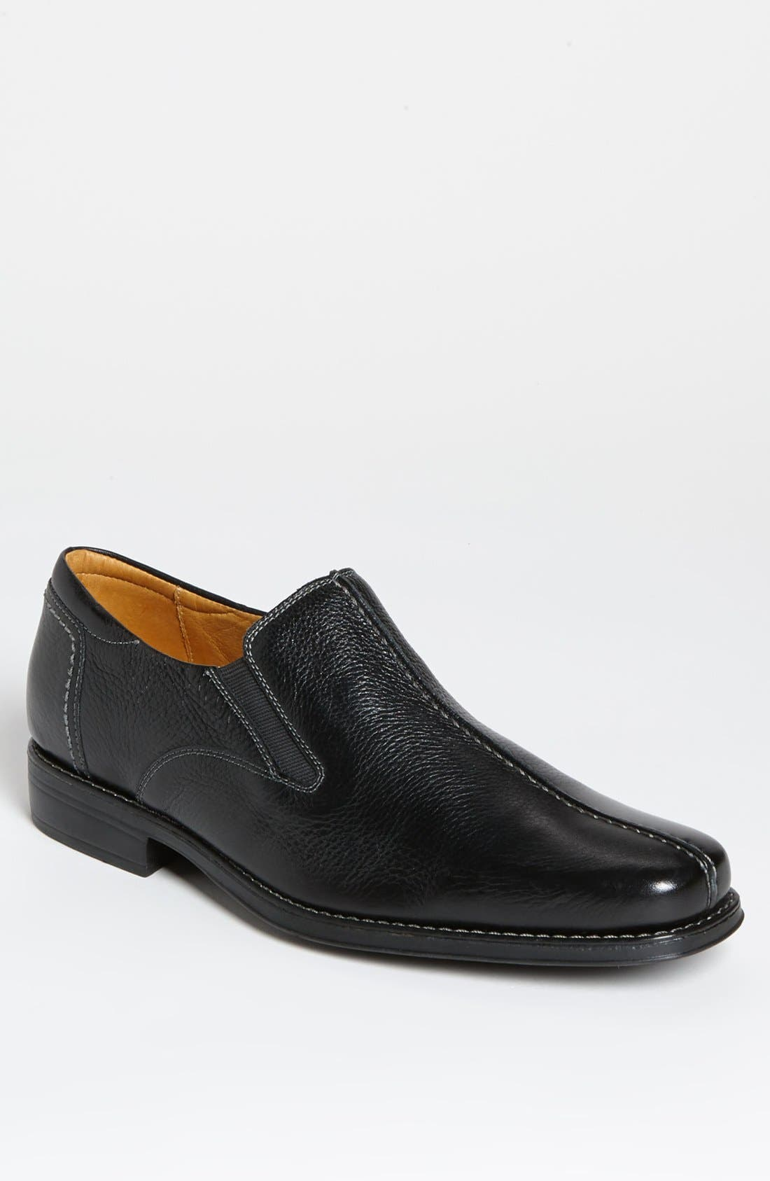 'Tampa' Loafer,                         Main,                         color, BLACK