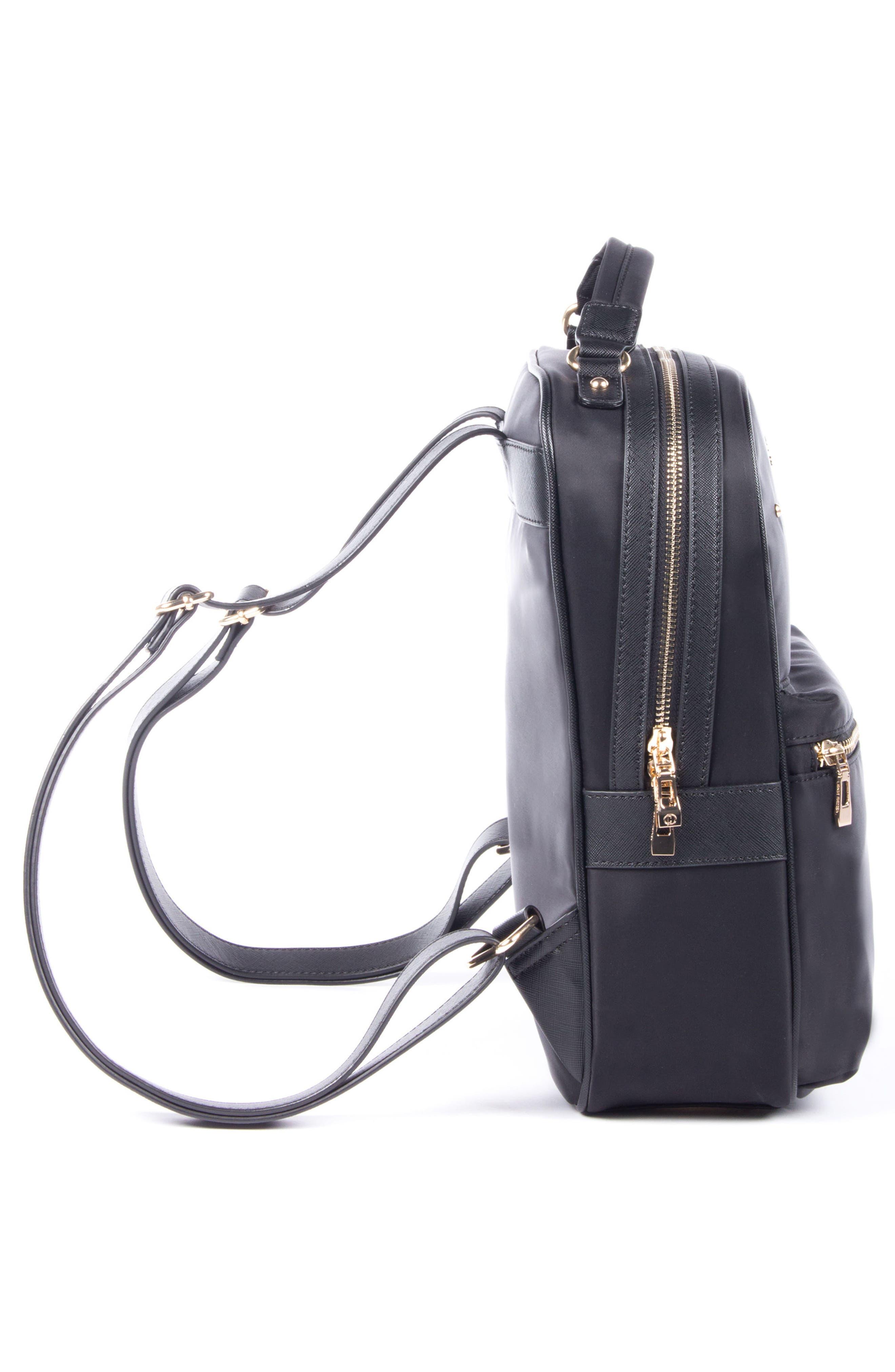 Céline Dion Presto Nylon Backpack,                             Alternate thumbnail 13, color,