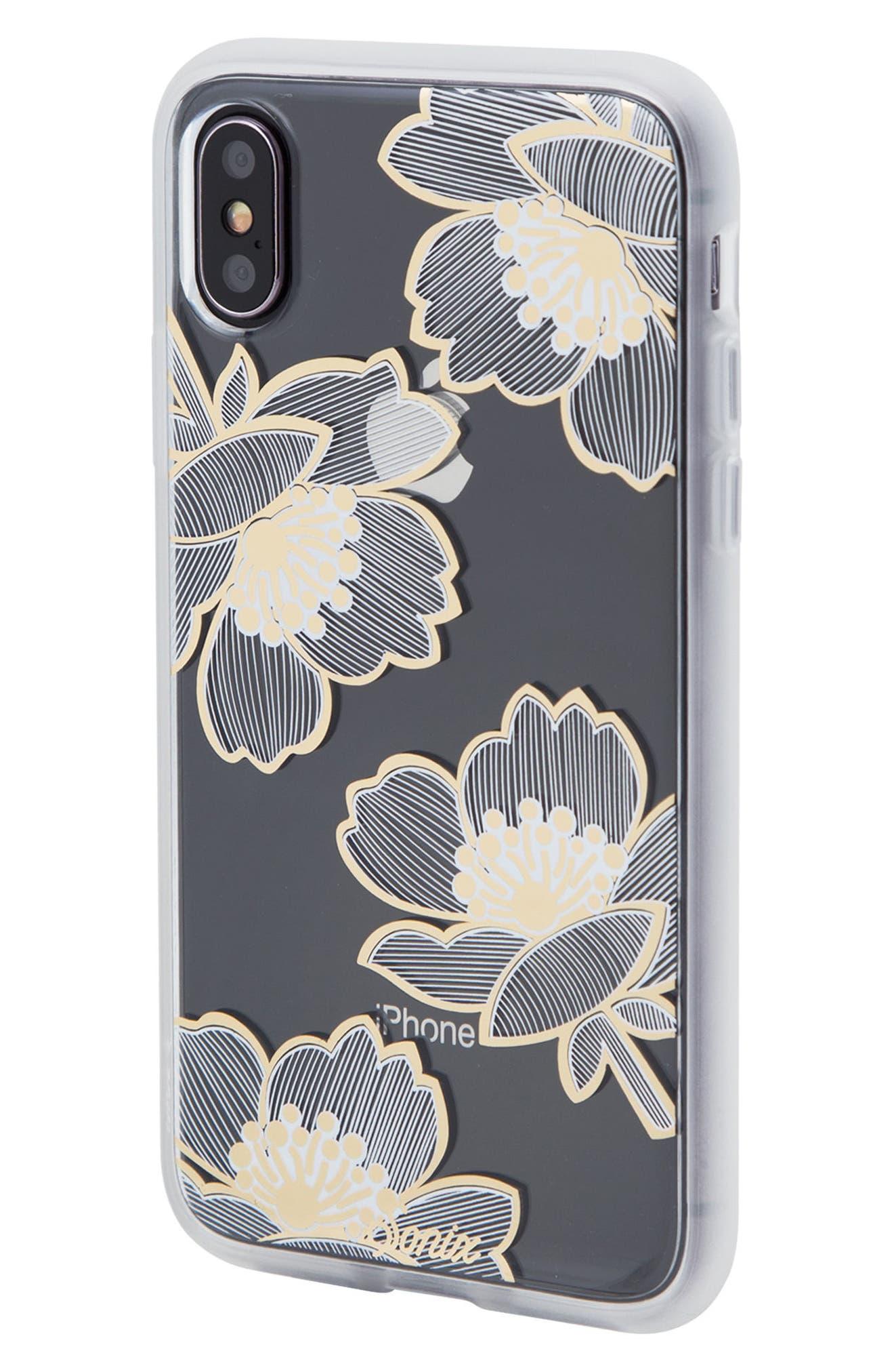 Bellflower iPhone X/Xs Case,                             Alternate thumbnail 2, color,                             710