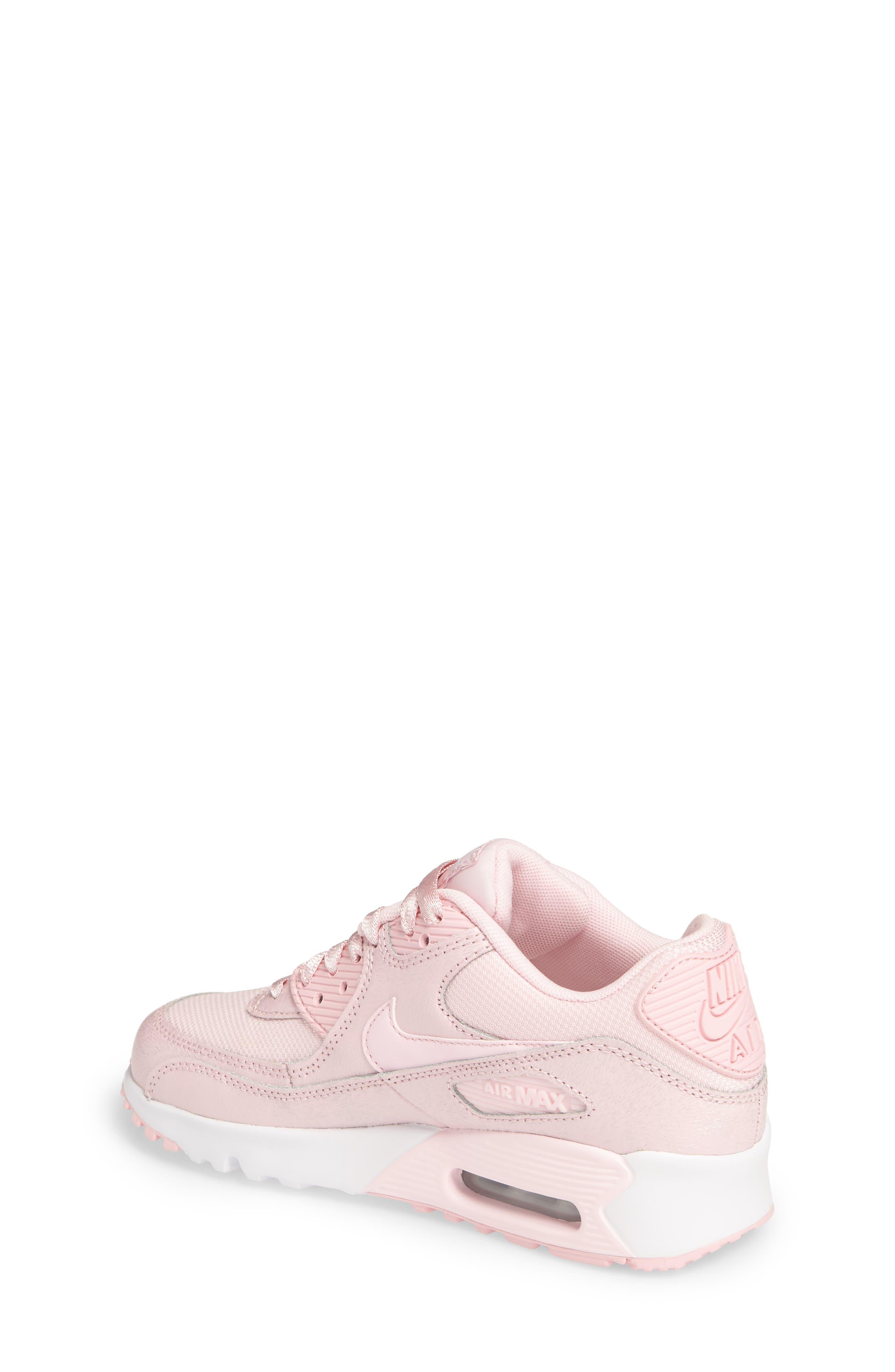 Air Max 90 Mesh Sneaker,                             Alternate thumbnail 2, color,                             650