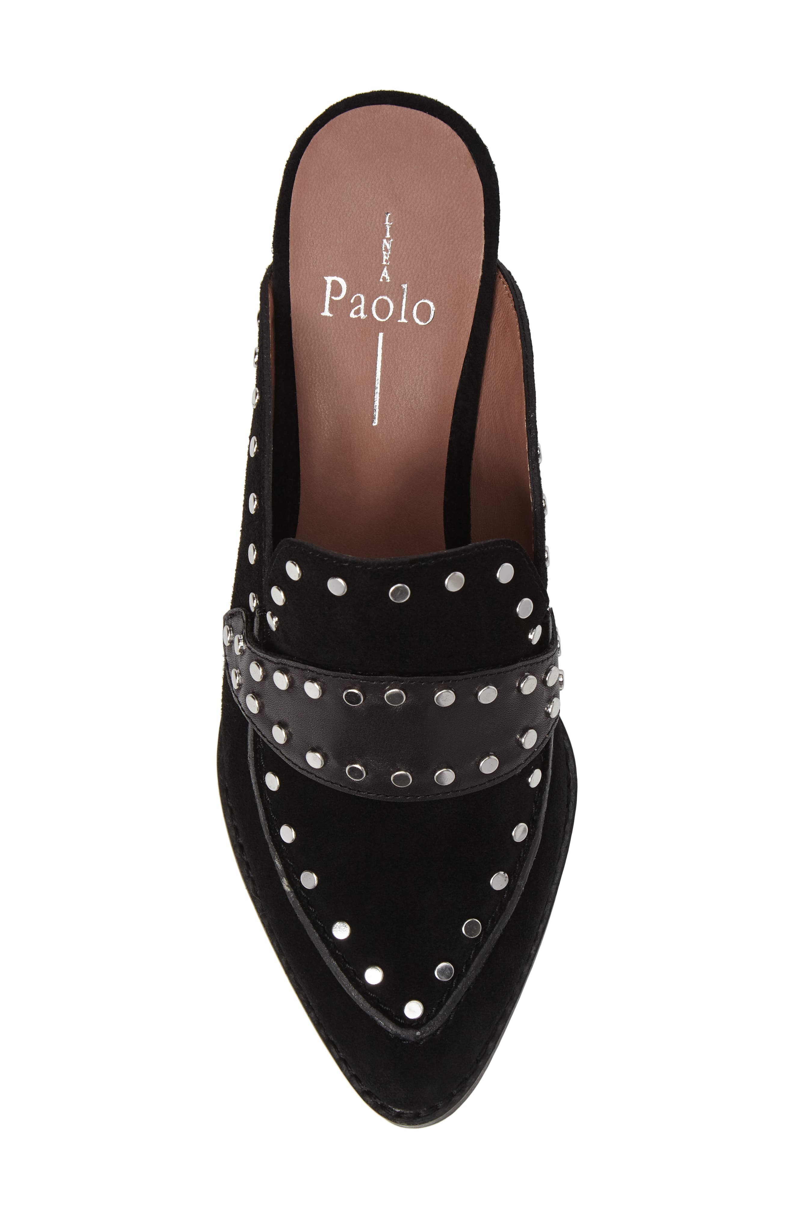 Donna Studded Mule,                             Alternate thumbnail 5, color,                             001