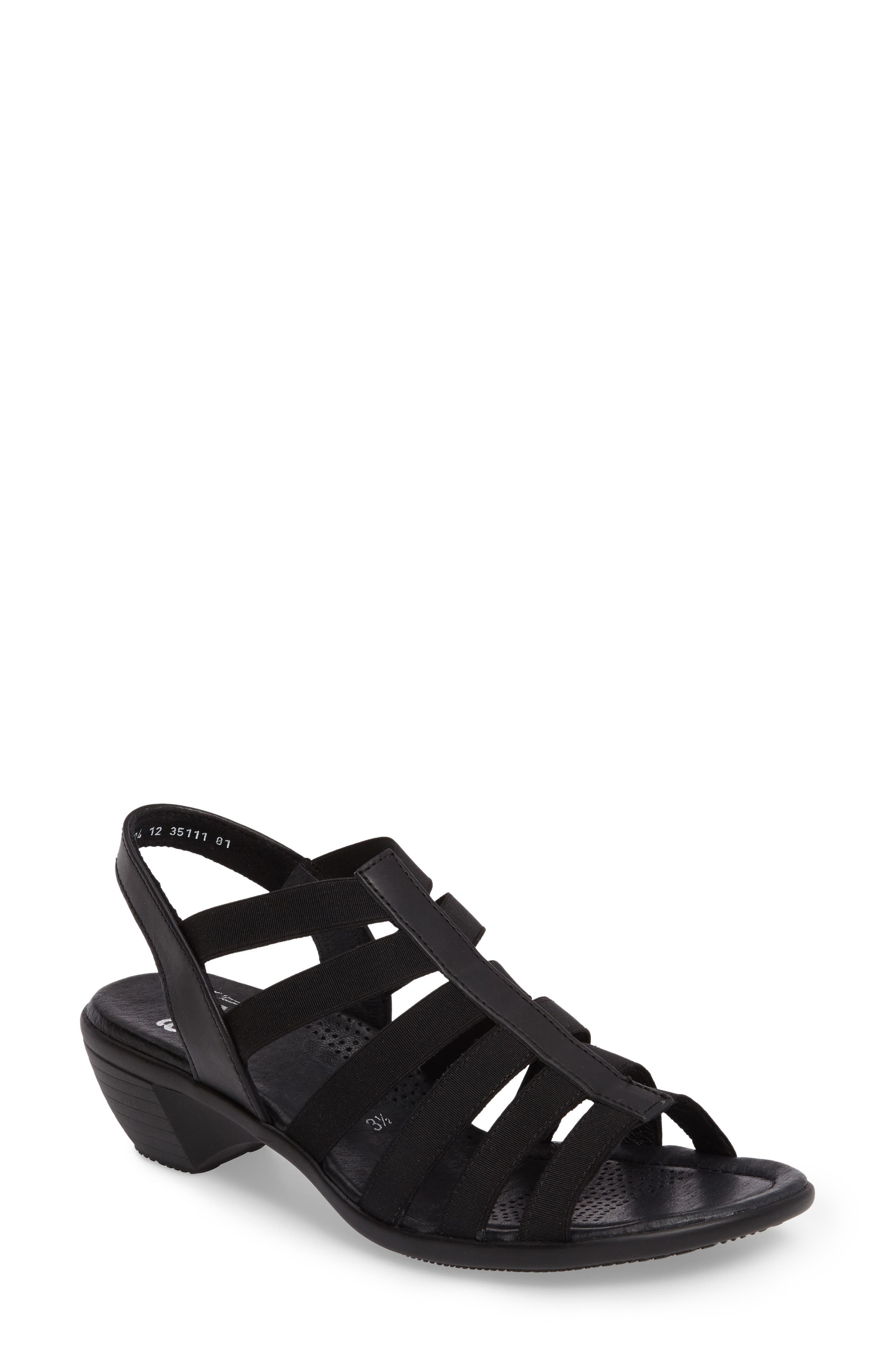 Peony Cage Sandal,                         Main,                         color, 001