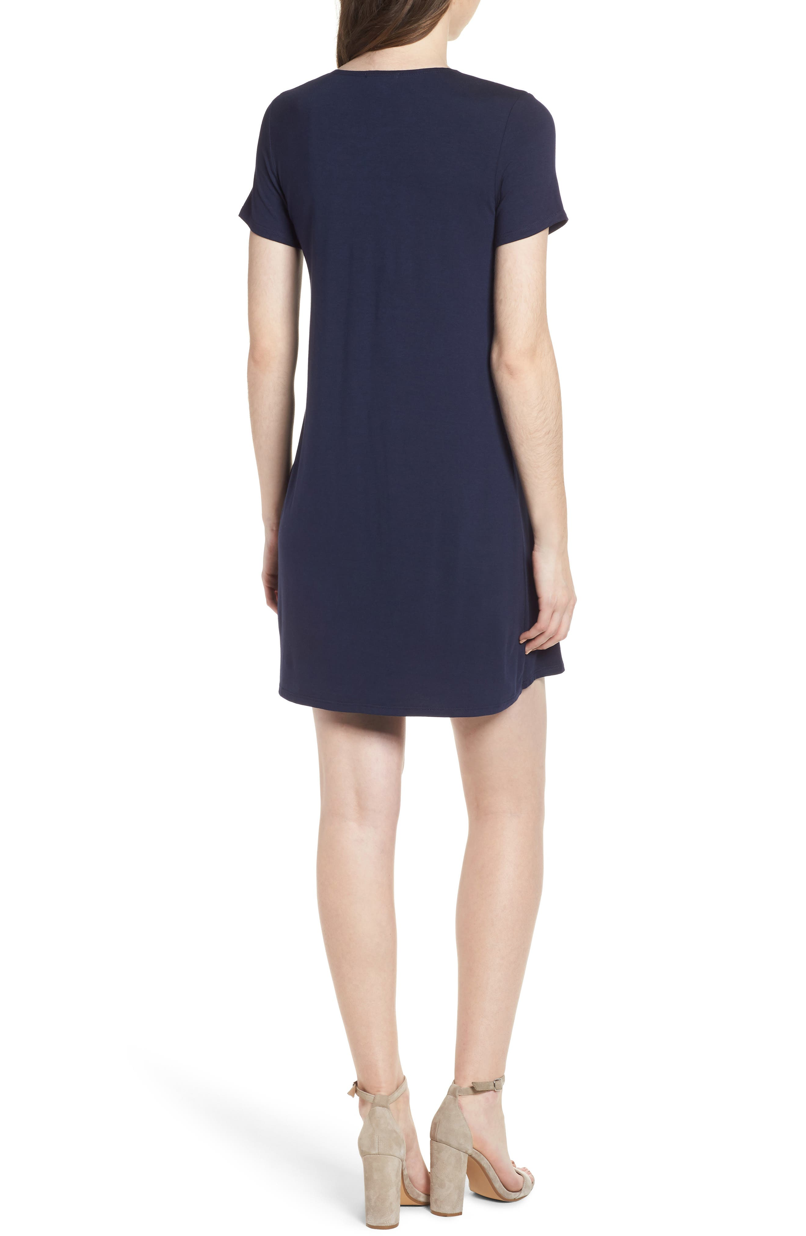 T-Shirt Dress,                             Alternate thumbnail 6, color,