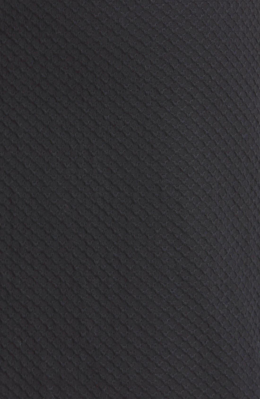 Welt Pocket Pencil Skirt,                             Alternate thumbnail 3, color,                             002