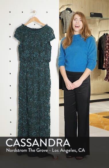 Sequin Lace Blouson Gown, sales video thumbnail