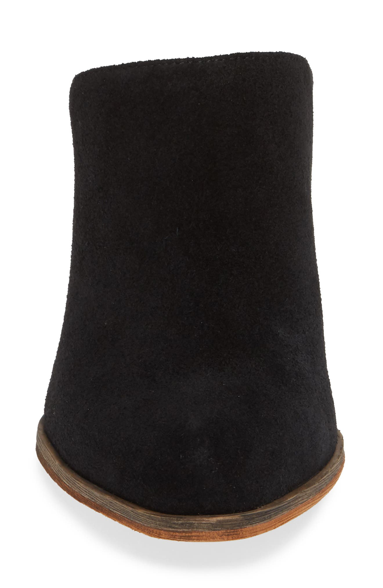 Miccah Mule,                             Alternate thumbnail 4, color,                             BLACK SUEDE