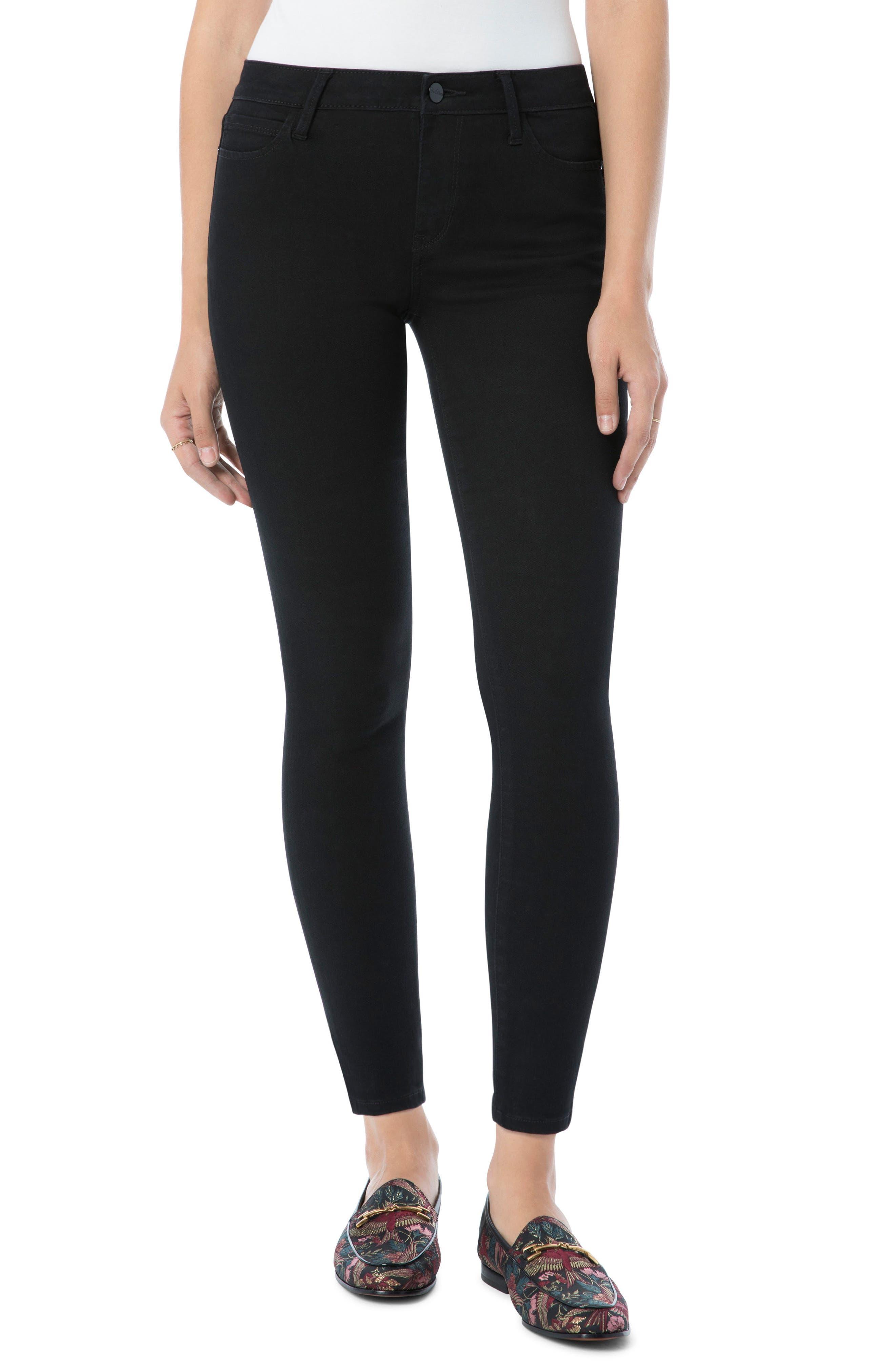 Kitten Ankle Skinny Jeans,                             Main thumbnail 1, color,                             AMBROSE