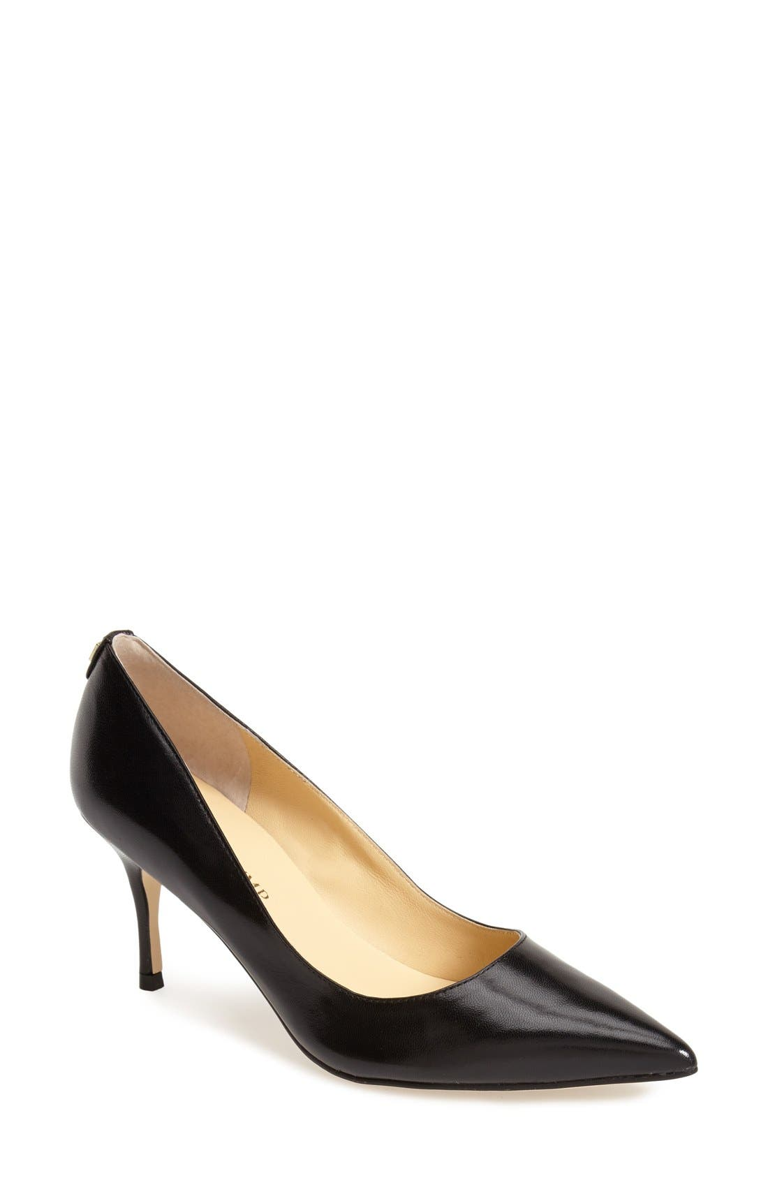 'Boni' Pointy Toe Pump,                             Main thumbnail 1, color,                             001
