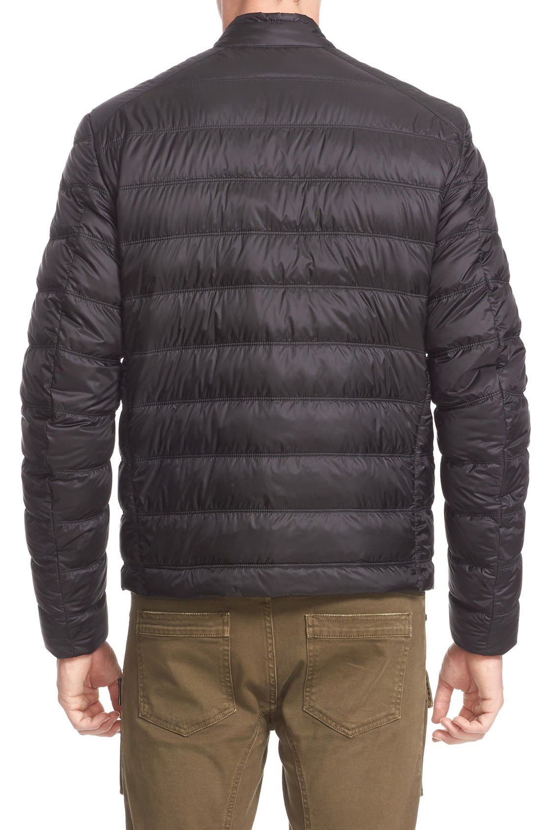 Halewood Quilted Down Jacket,                             Alternate thumbnail 5, color,                             001