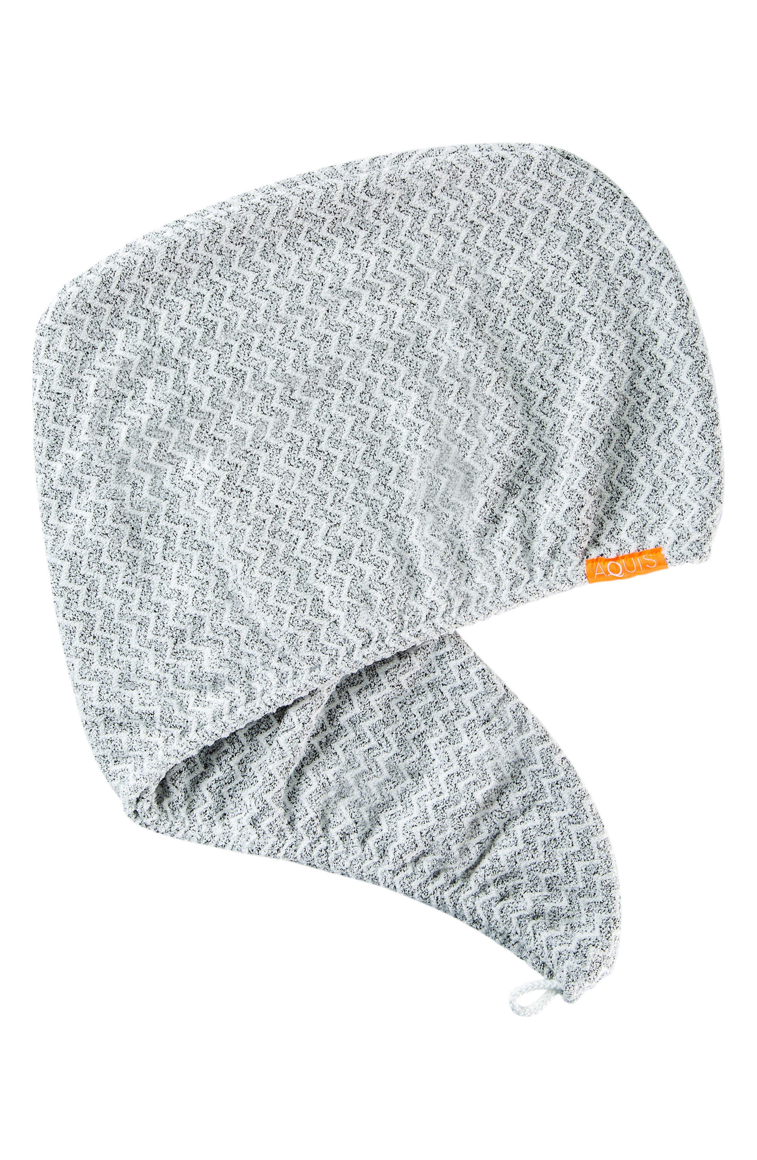 Lisse Luxe Chevron Weave Hair Turban,                             Main thumbnail 1, color,                             CHEVRON
