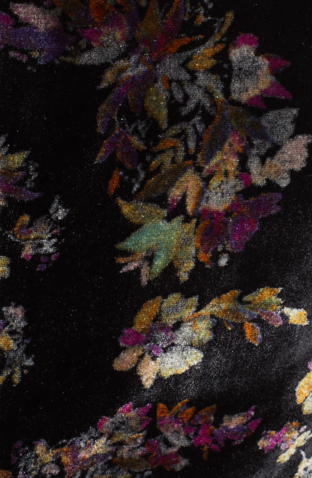 Jewel Velvet Blazer,                             Alternate thumbnail 6, color,                             014