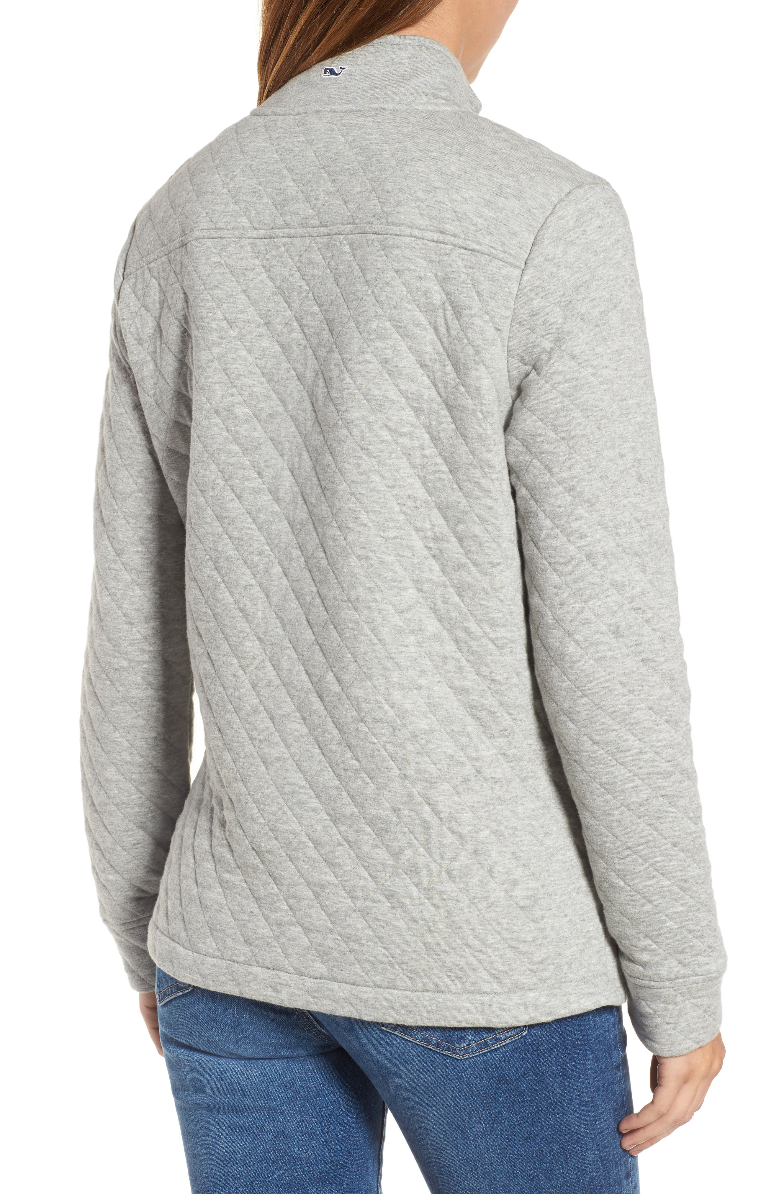 Shep Quilted Quarter Zip Pullover,                             Alternate thumbnail 2, color,                             039