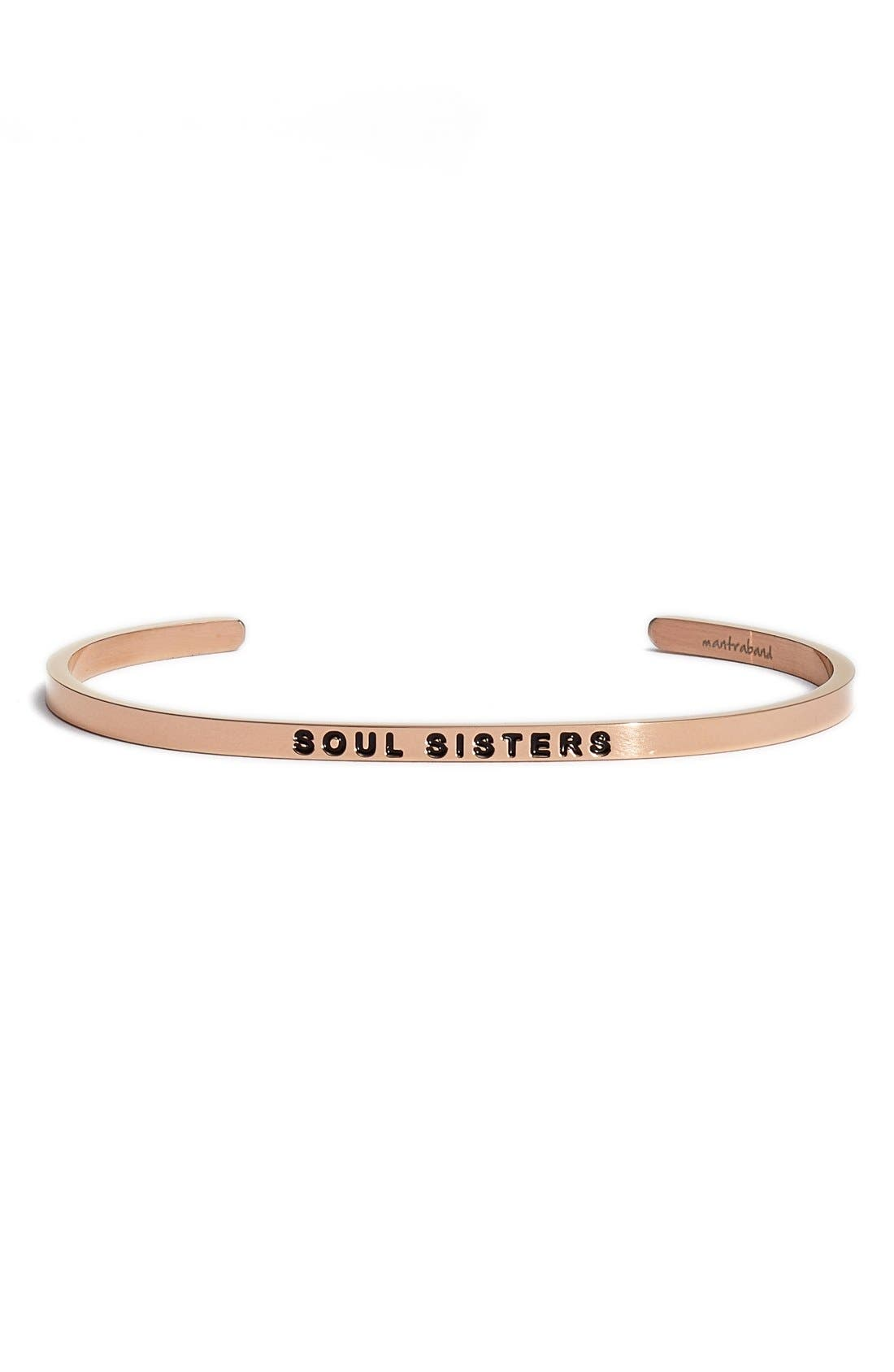 'Soul Sister' Cuff,                         Main,                         color, ROSEGOLD