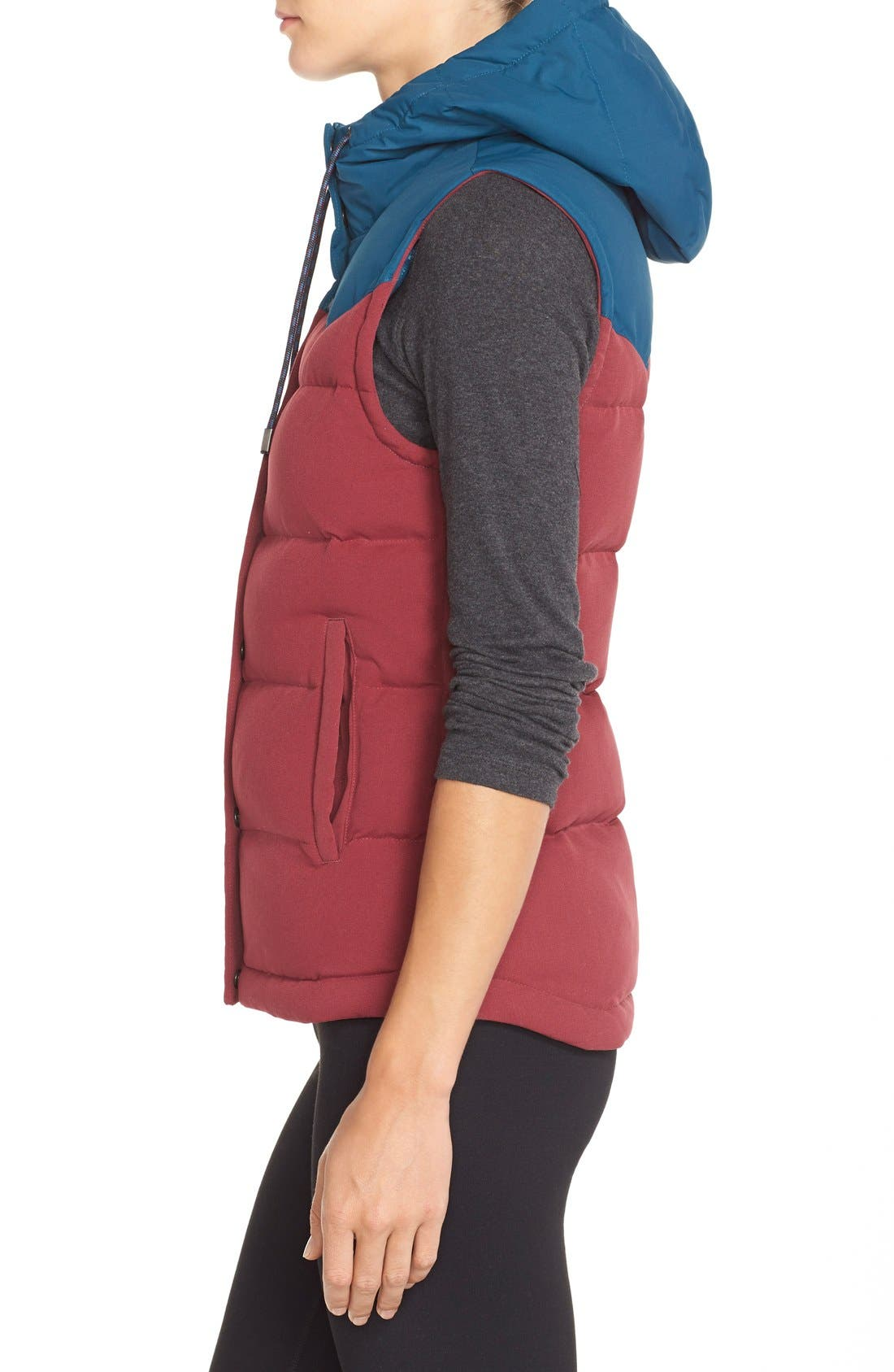 'Bivy' Water Repellent 600 Fill Power Down Vest,                             Alternate thumbnail 27, color,