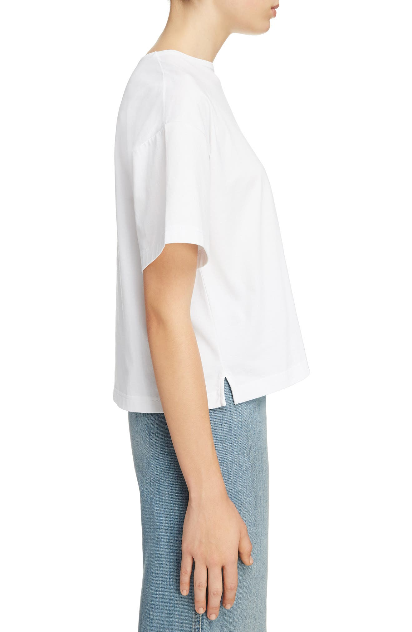 Marwig Boxy Tee,                             Alternate thumbnail 3, color,                             OPTIC WHITE