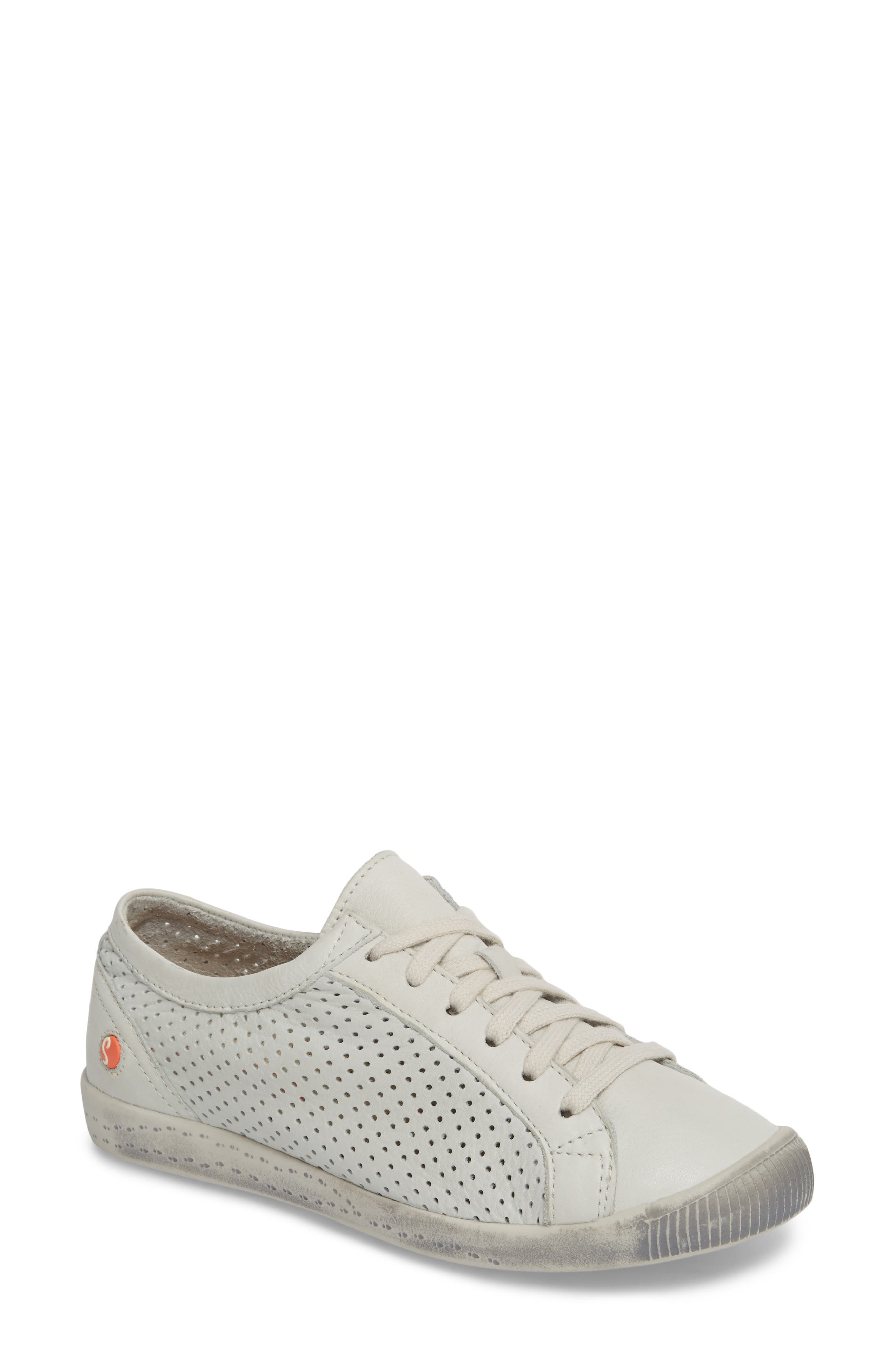 Ica Sneaker,                             Main thumbnail 1, color,                             WHITE LEATHER