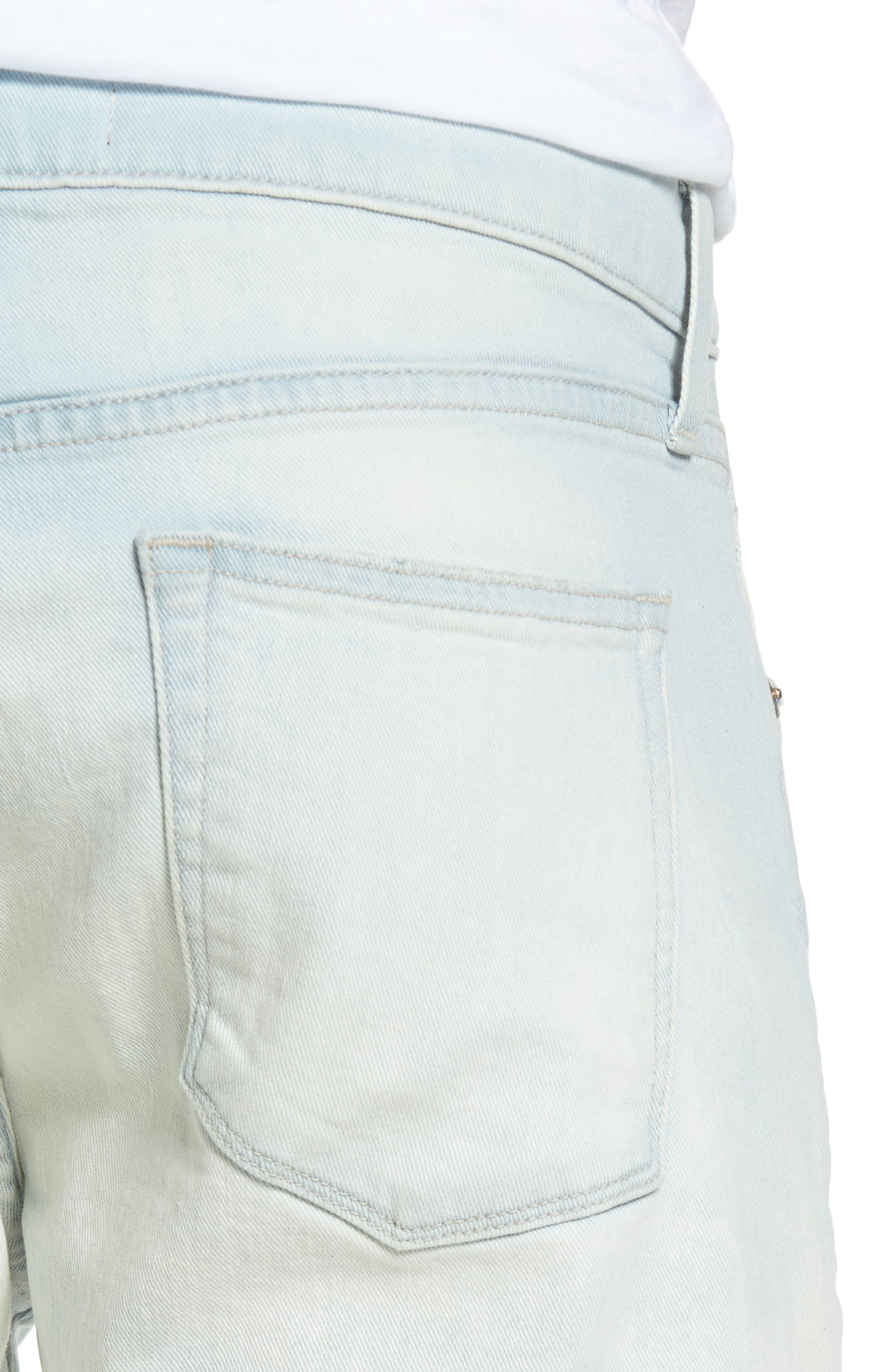 Tyler Slim Fit Jeans,                             Alternate thumbnail 4, color,                             455