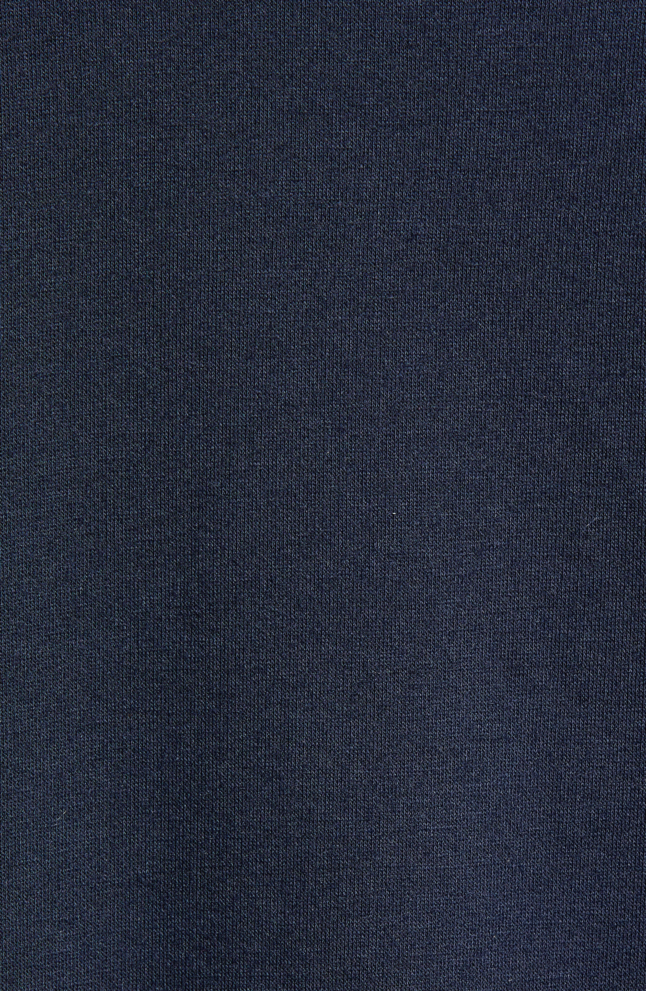 Eat, Drink & Be Merry Pullover,                             Alternate thumbnail 5, color,                             NAVY