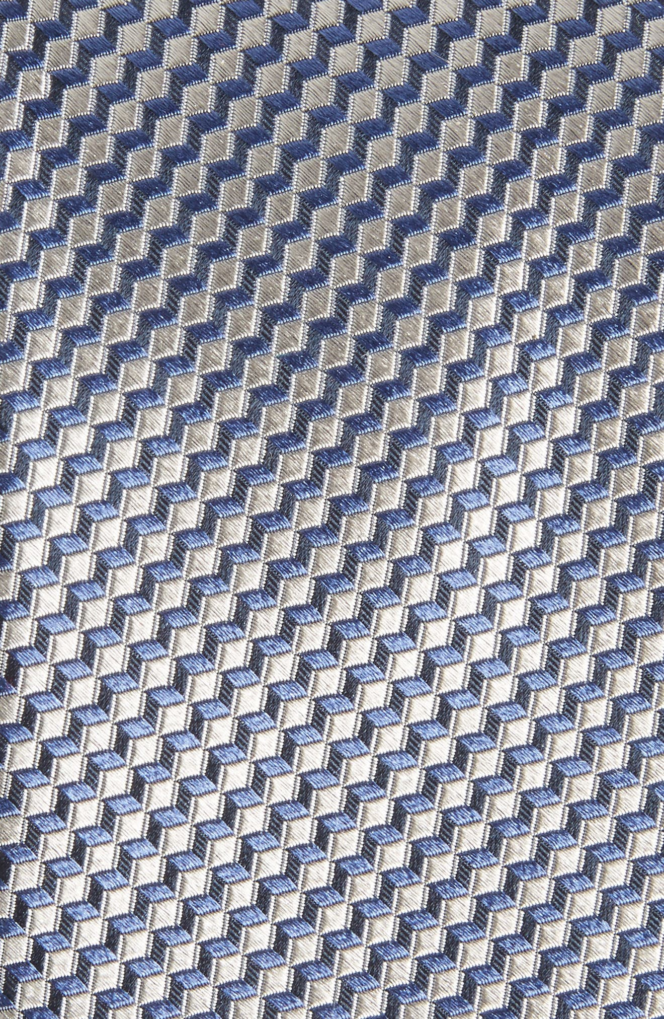 Doria Geometric Silk Tie,                             Alternate thumbnail 2, color,                             040