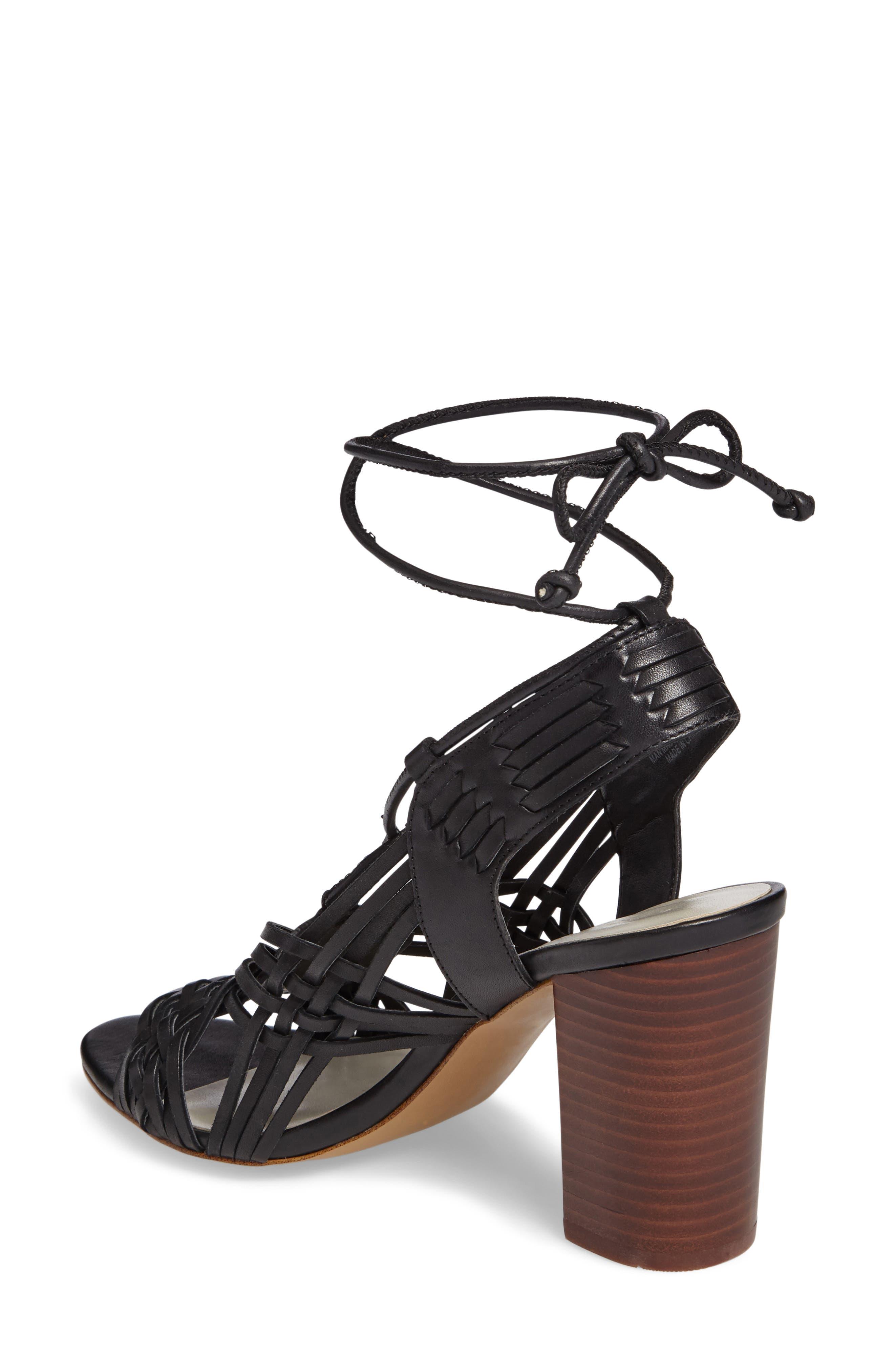 Shannen Block Heel Sandal,                             Alternate thumbnail 2, color,                             001