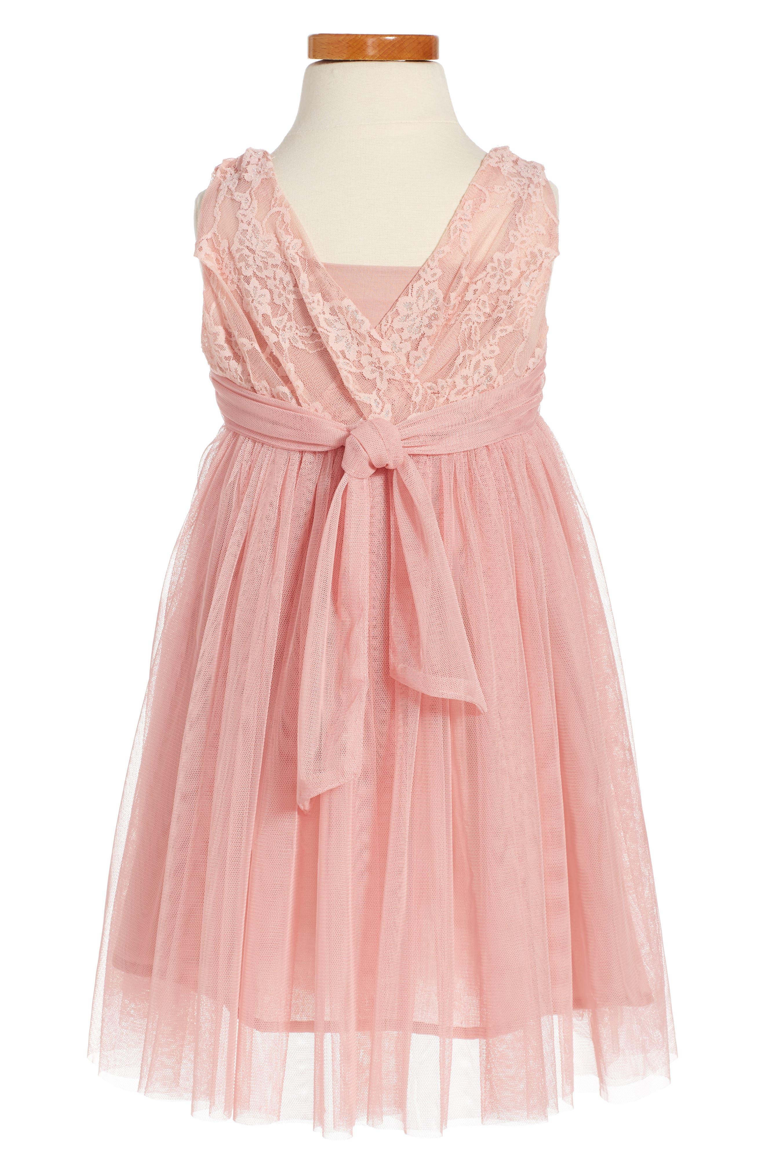 Butterfly Sleeveless Dress,                             Alternate thumbnail 2, color,                             653